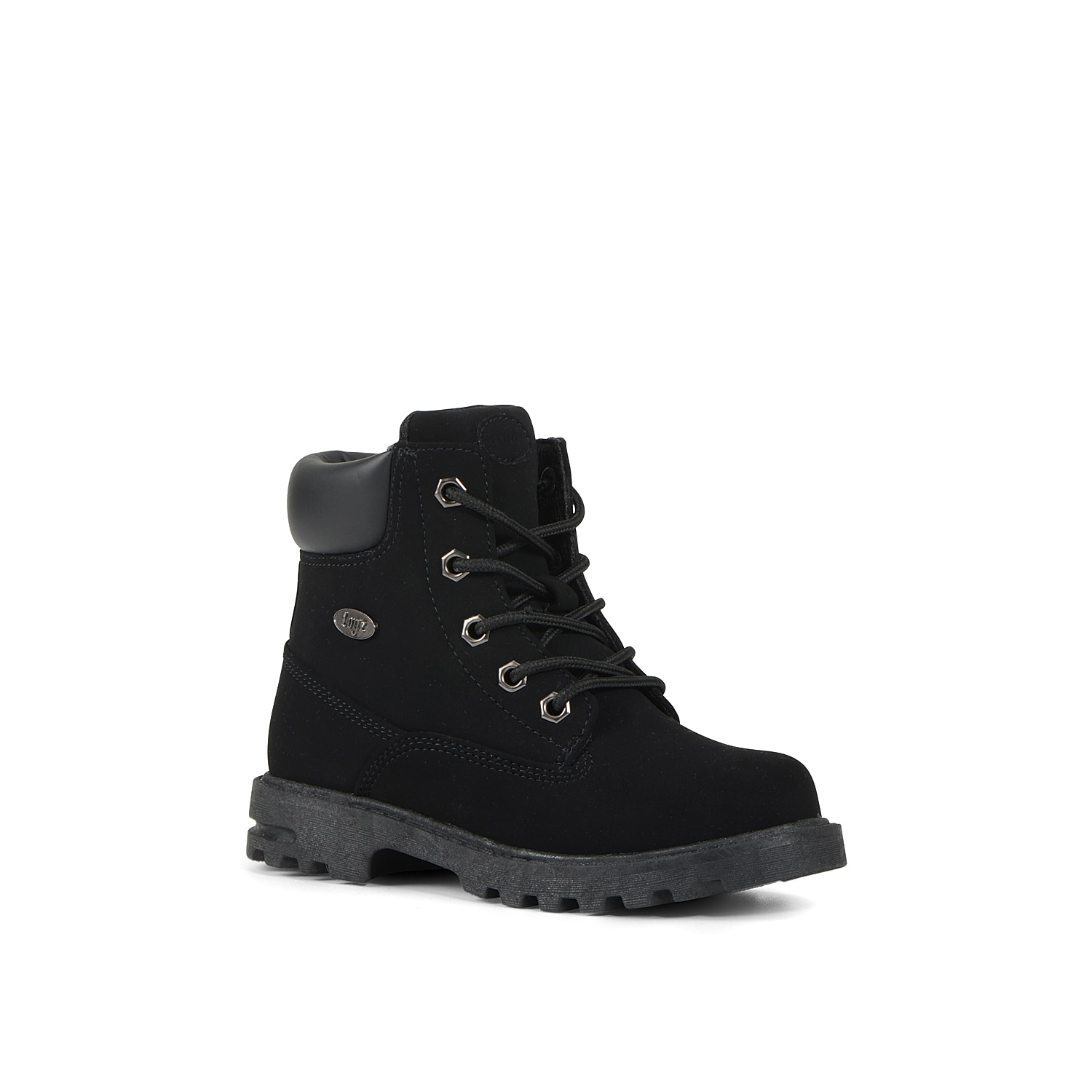 No matter what the day brings, he will choose the Empire boot from Lugz. This lace-up boot features a slip-resistant rubber sole to keep him grounded, and the Flexastride footbed provides lasting comfort. Click here for Kids Size Guide.