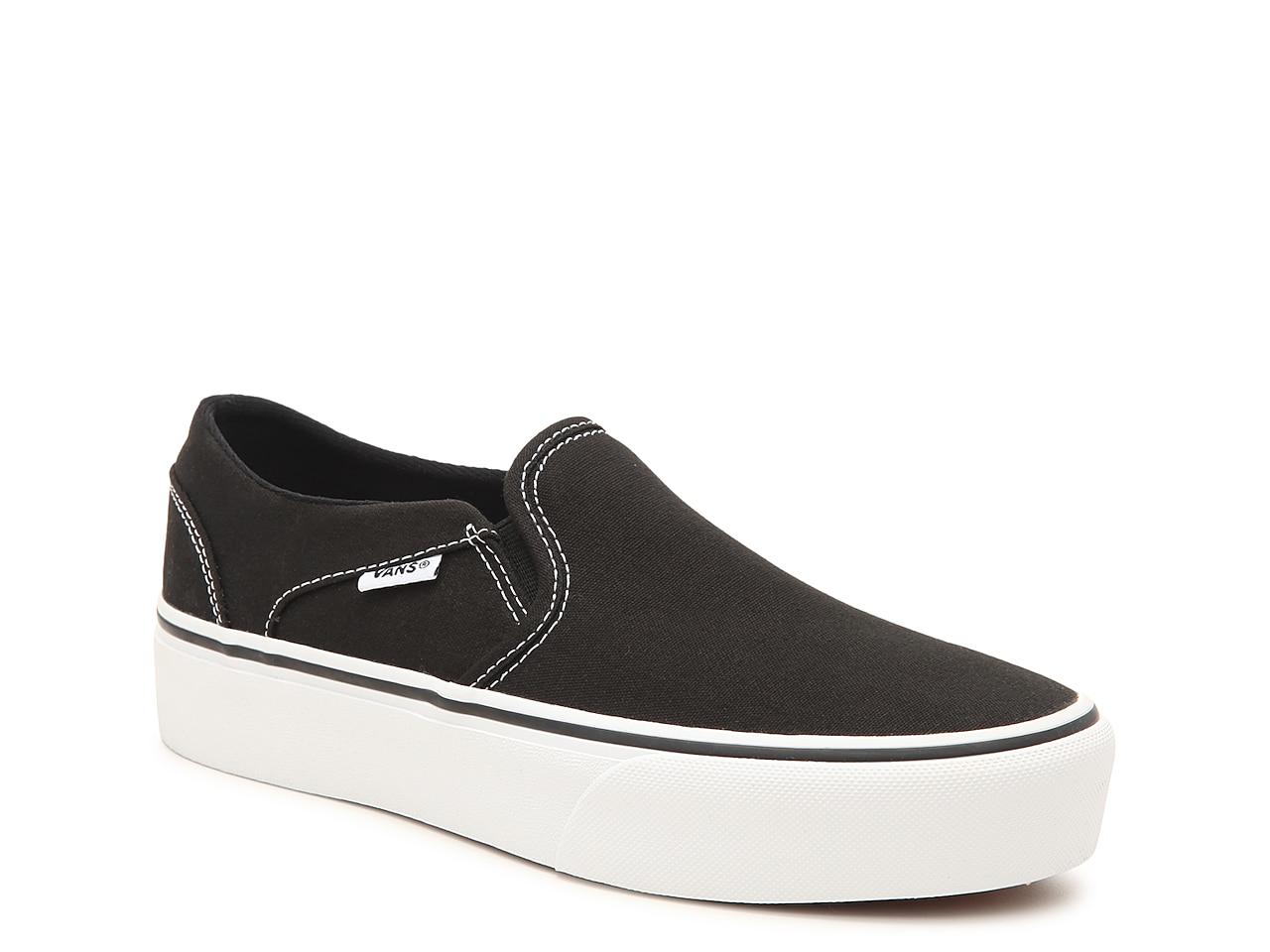 Vans Asher Platform Slip-On Sneaker - Women's