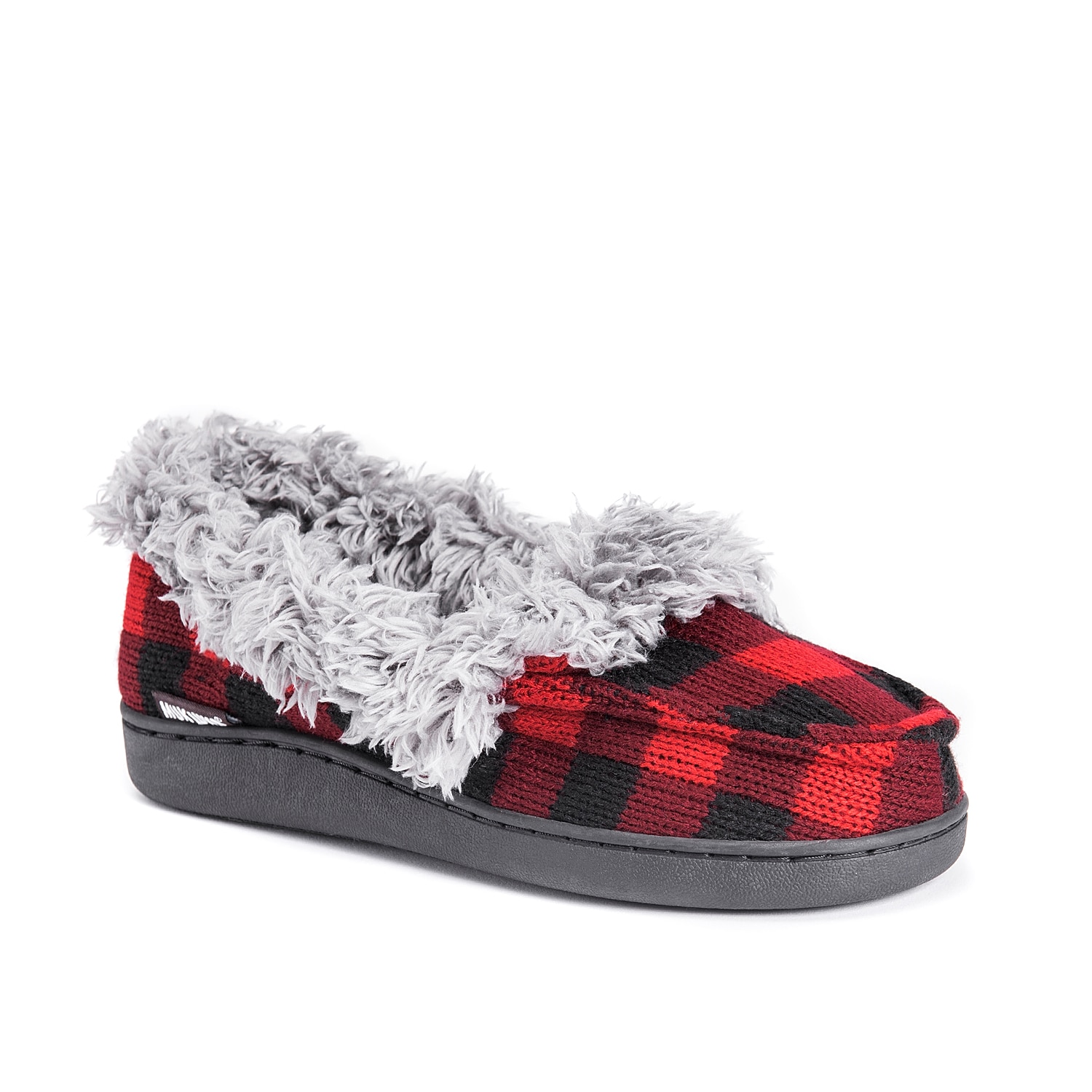Feel cozy even in cold weather with the Muk Luks Anais slipper. Lined with a plush collar, this bootie features a faux fur insole to provide the ultimate warm hug!