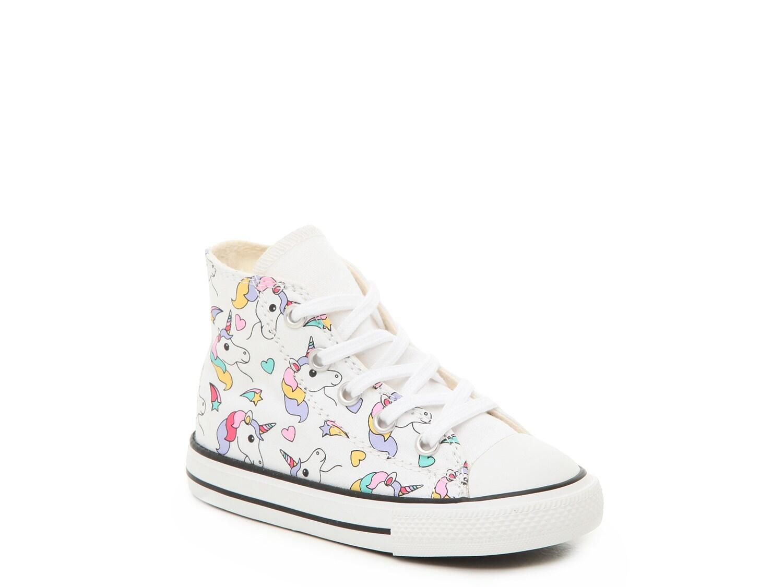 Converse Chuck Taylor All Star Unicorn High-Top Sneaker - Kids' | DSW