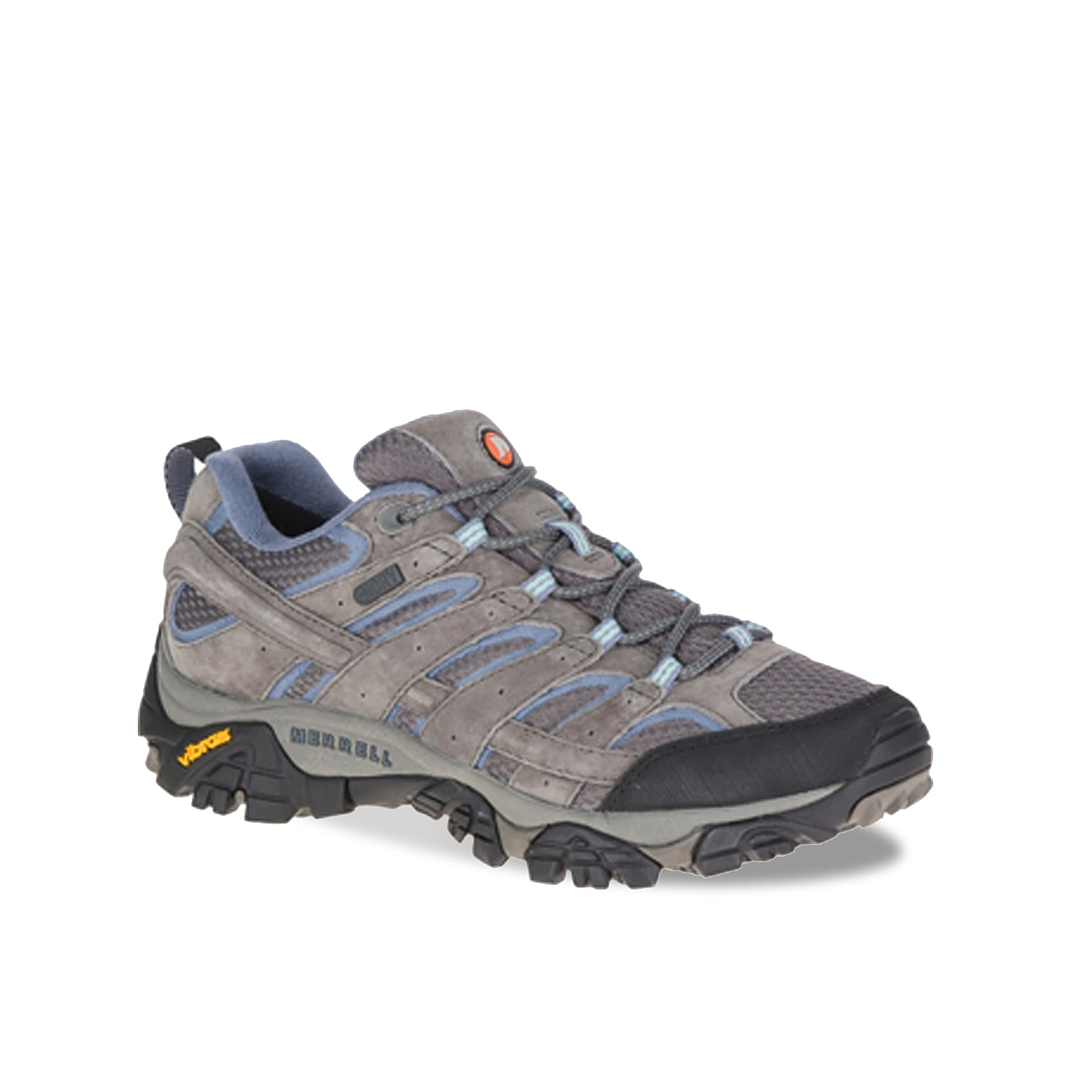 The Moab 2 Vent waterproof hiking shoe from Merrell will take on every terrain! Lace up this durable trail shoe and feel secure as you set off on an adventure.