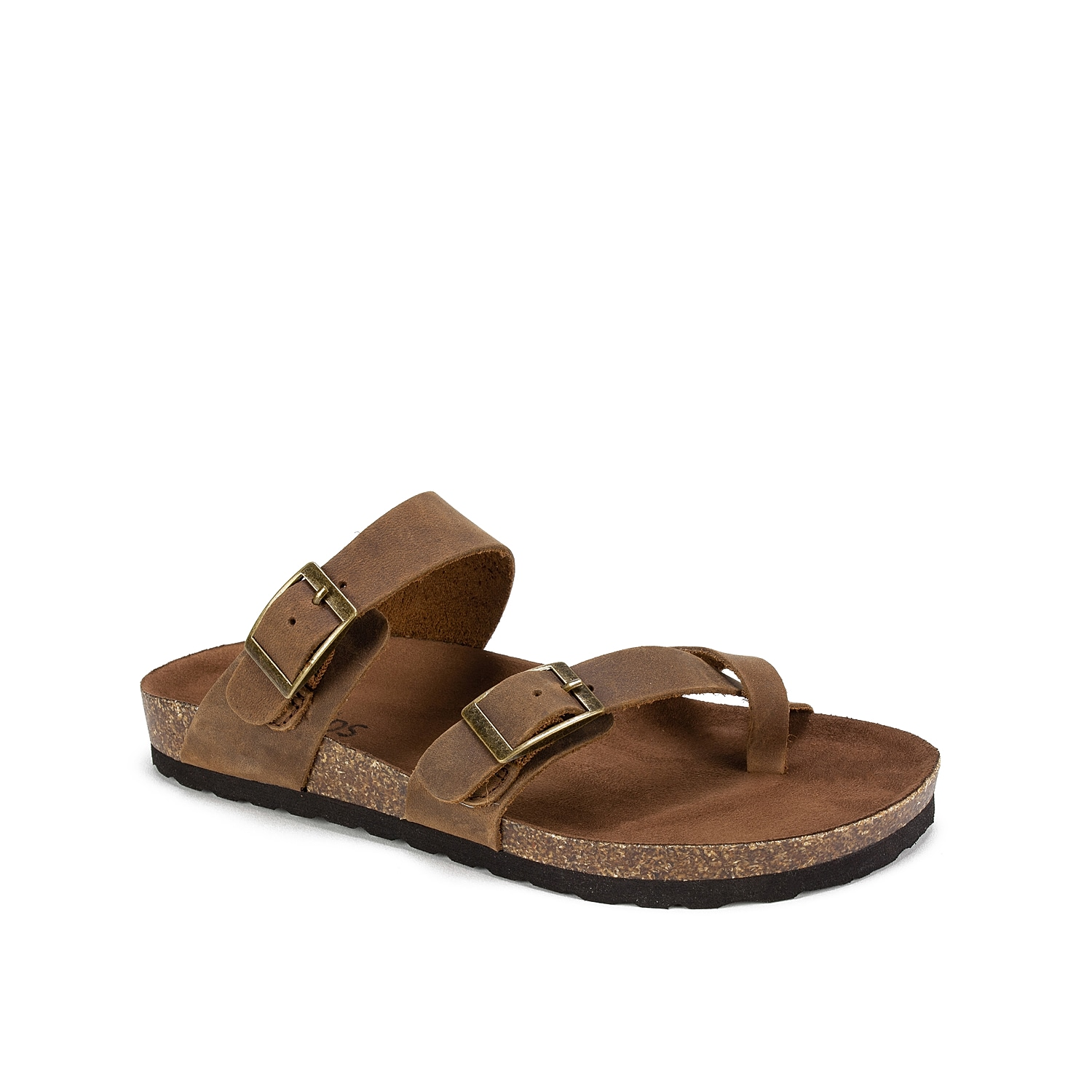 The Gracie from White Mountain will become your new summer staple. A microfiber-lined contoured footbed will keep you comfortable at your next backyard BBQ or trip to the mall.