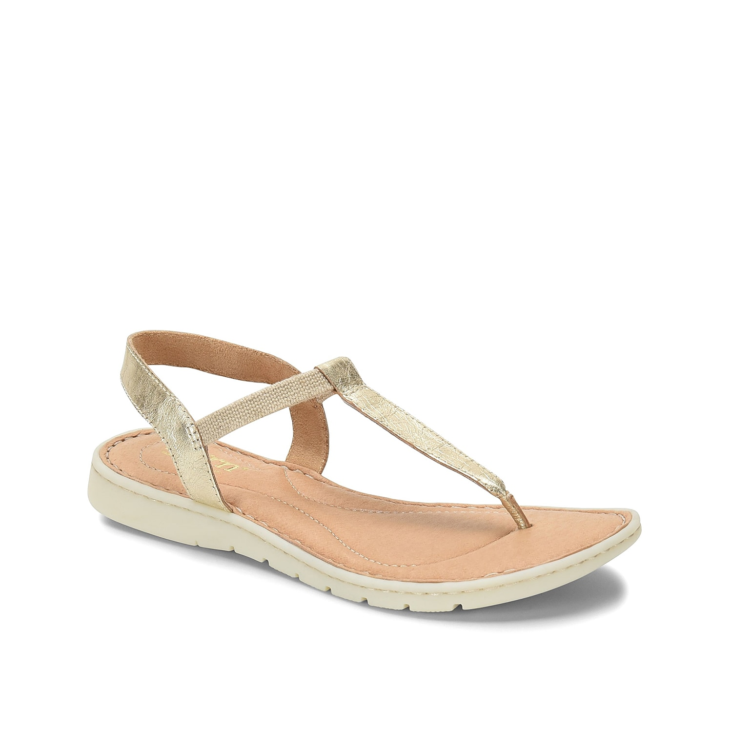 Stay comfortable in style when wearing the Sizzling sandal from Born. This silhouette is fashioned with a leather construction and a cushioned footbed for daylong wear!