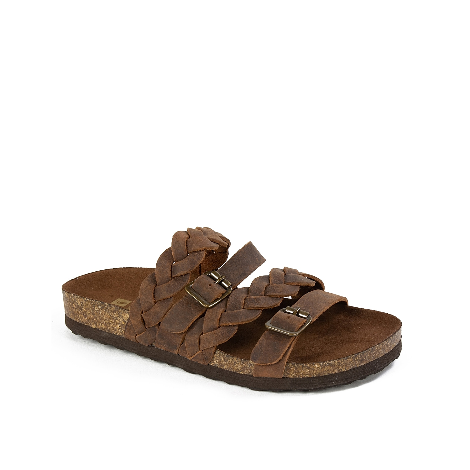Show off your laid-back summer style with the Holland sandal from White Mountain. Braided straps and buckle accents will make this pair a modern yet casual addition to any outfit.