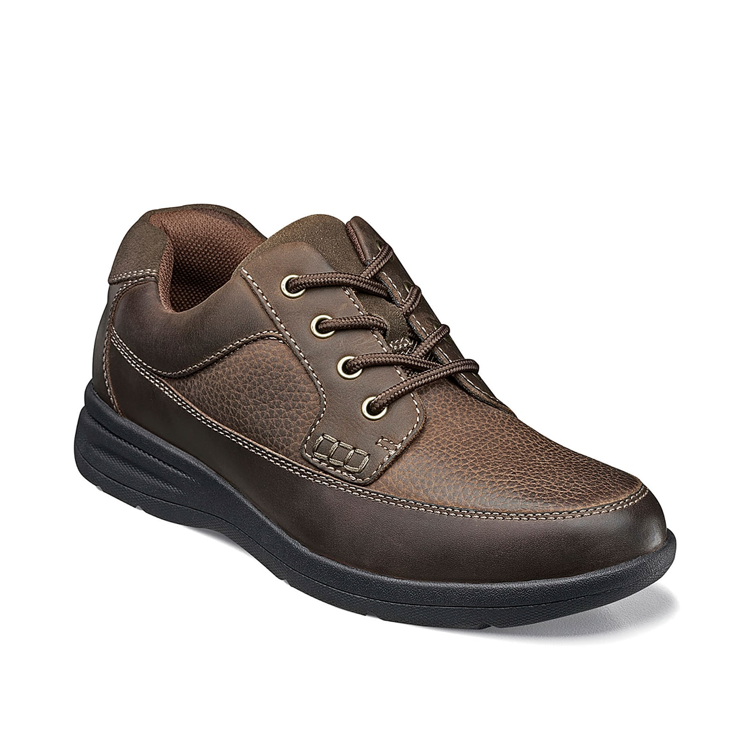 Step into the Cam oxford from Nunn Bush for an instant comfort boost. These leather lace-ups feature an anatomically-designed gel pad that absorbs impact and plenty of cushioning for daylong support.