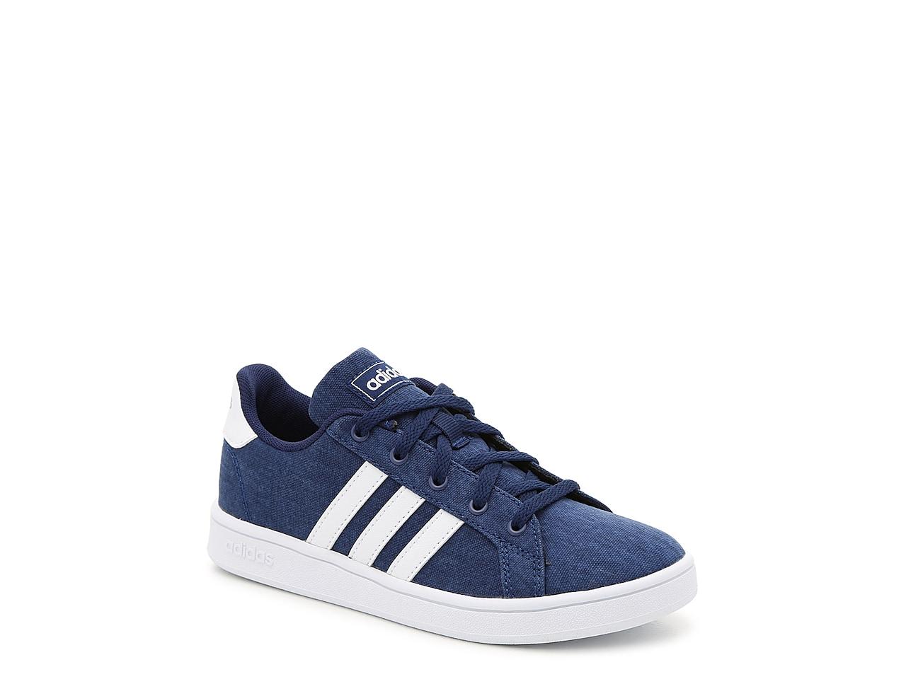 Adidas Kids: GRAND COURT SNEAKER! .98 (REG: ) at DSW!