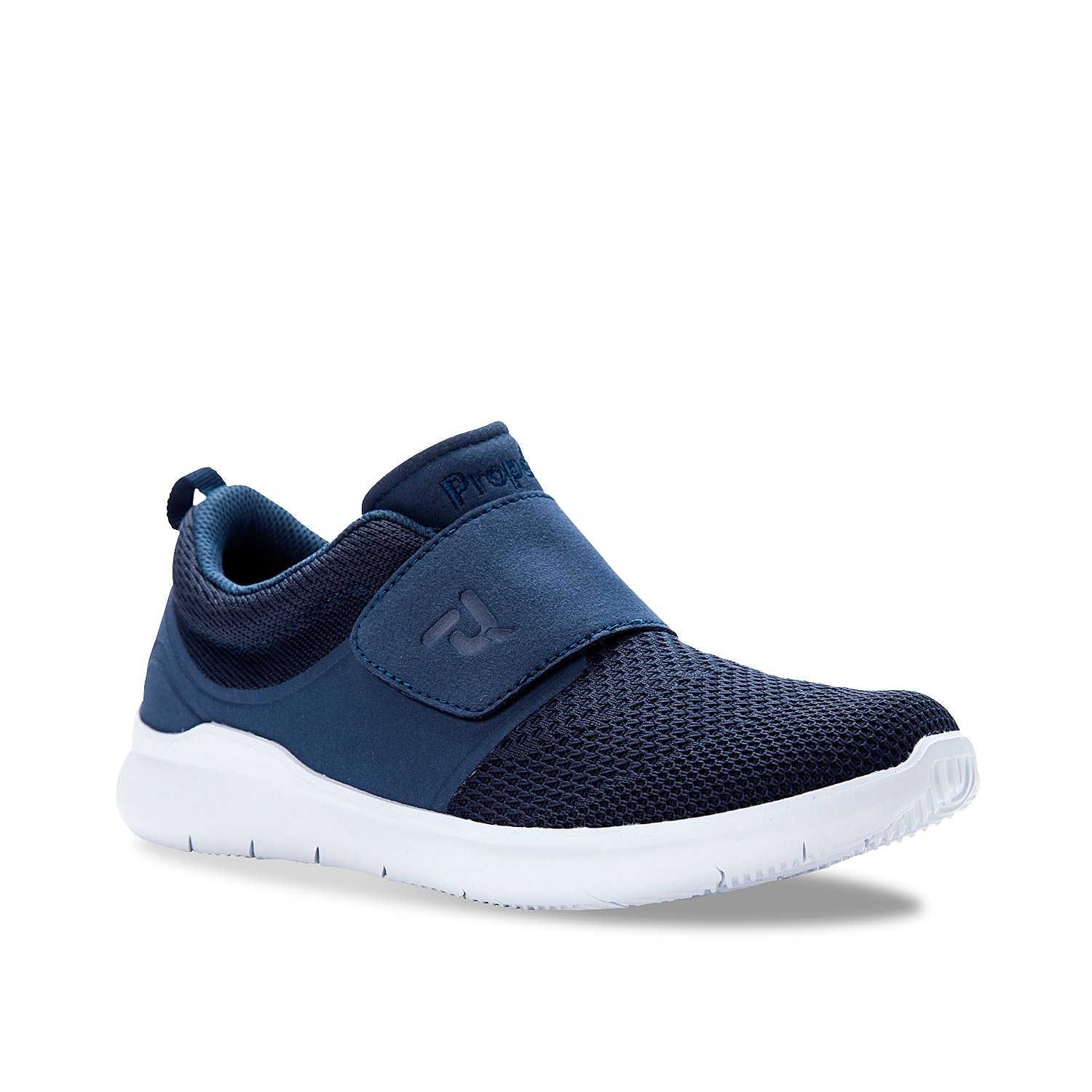 Feel relaxed when wearing the Viator Strap slip-on walking shoe from Propet. The embedded EVA cushioning and lightweight design will give this men\\\'s walker lasting comfort!