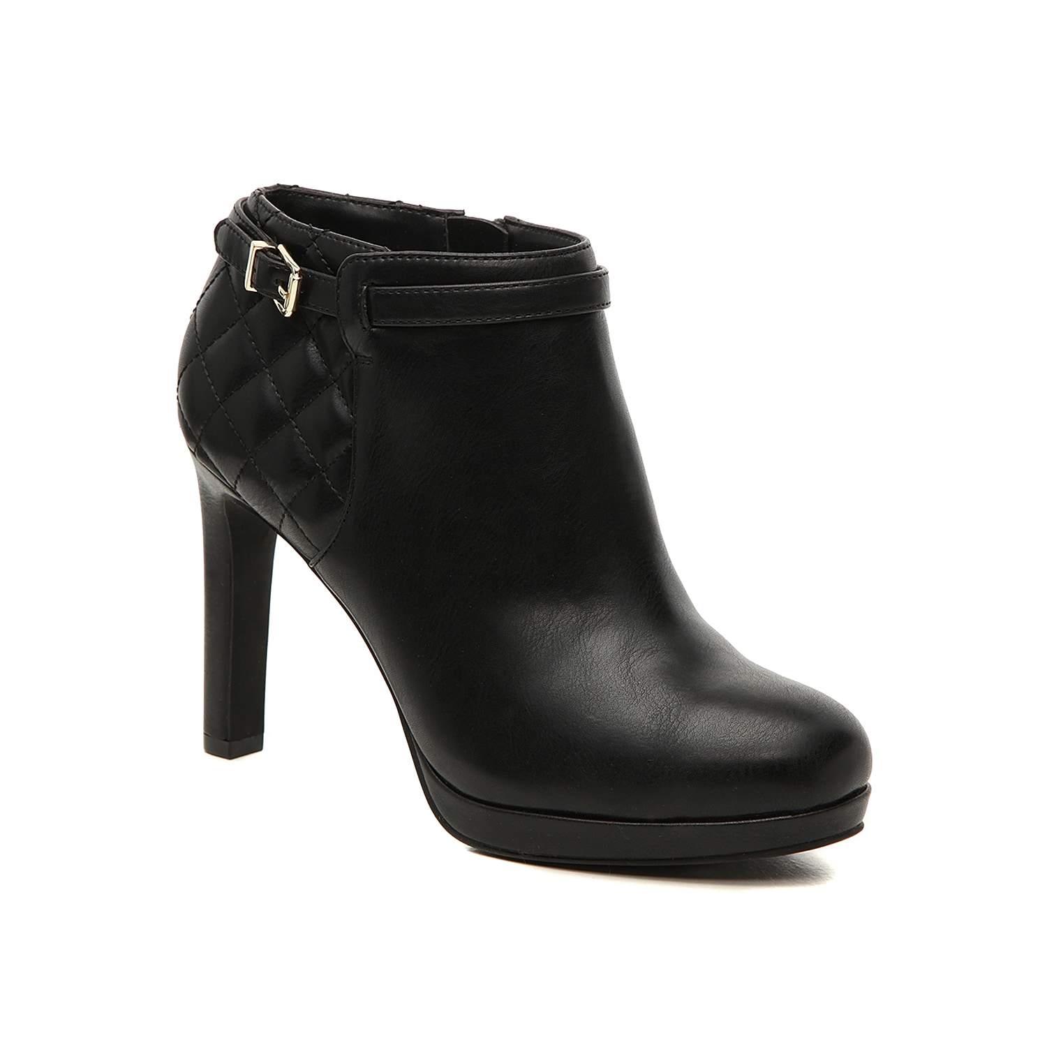 The Corymbos platform bootie from Kelly & Katie is the dressy look you\\\'ve been striving for. The supportive platform and slender buckle accent will go great with a midi dress or dark jeans!