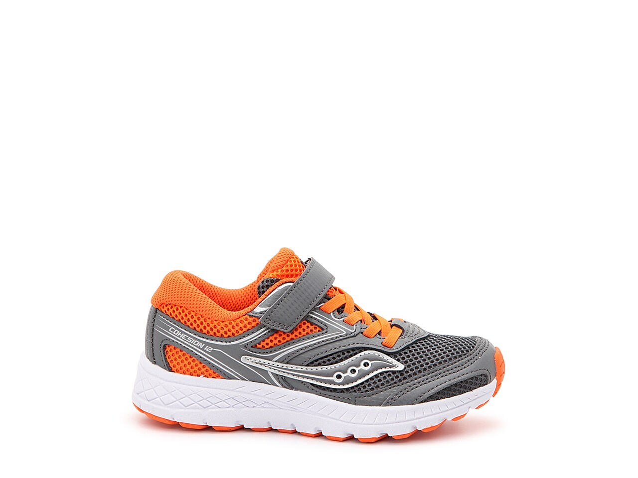 Saucony Boys S-Cohesion 12 A//C Running Shoes Trainers Sneakers Black Sports