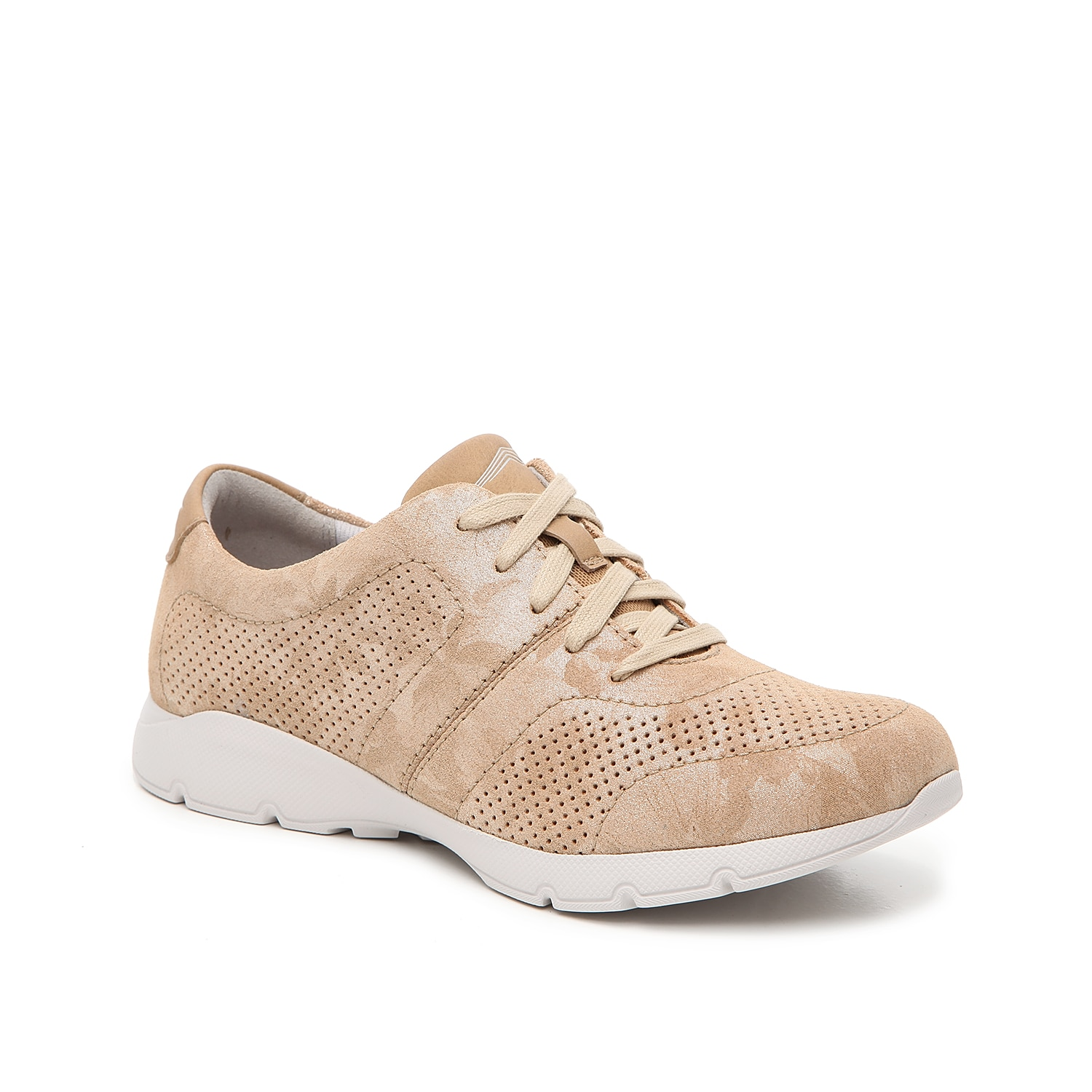 Lace up the Alissa sneaker from Dansko and be on the go in no time! These nubuck leather low-tops feature a removable insole for custom comfort all-day long.