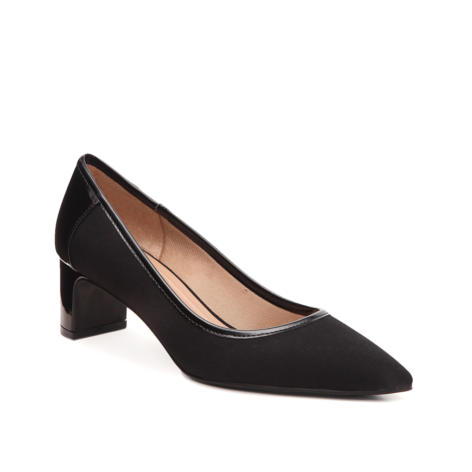 The Alice pump from Abella flaunts classic styling that\\\'s easy to pair with any outfit. A pointed toe and block heel create a sophisticated silhouette while the True Comfort footbed cushions every step.