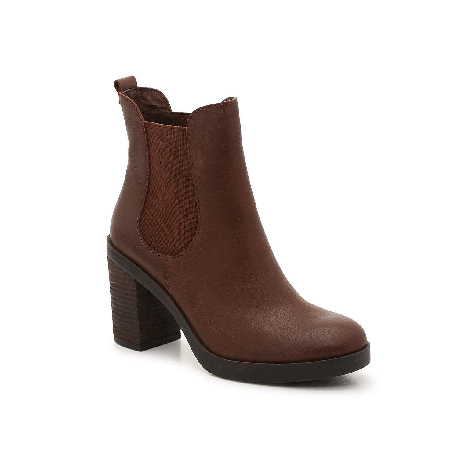 Refresh this seasons shoe collection with the After Hours chelsea boot from Crown Vintage. This ankle boot is fashioned with a chunky stacked heel and dual gore accents that will go great with ankle jeans and a graphic tee!