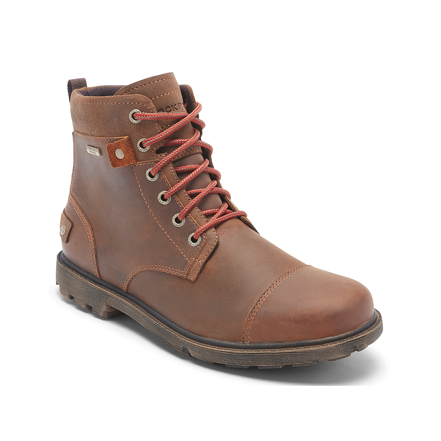 Complement your durable wardrobe with the Storm Surge II boot from Rockport. This lace-up pair features versatile closures and a waterproof, leather construction that will be perfect for a variety of weather conditions!