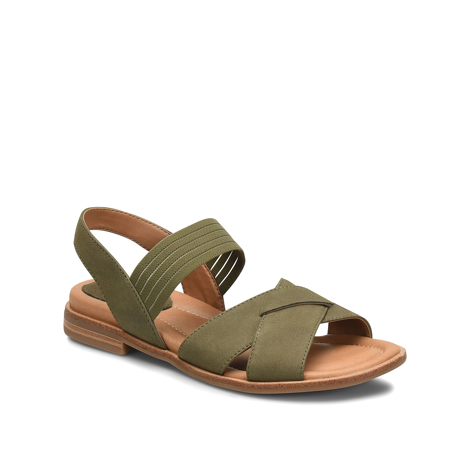 Give off a carefree spirit when styling the Dixie sandal from Comfortiva. This silhouette is fashioned with smooth leather and a cushioned footbed for relaxing steps.