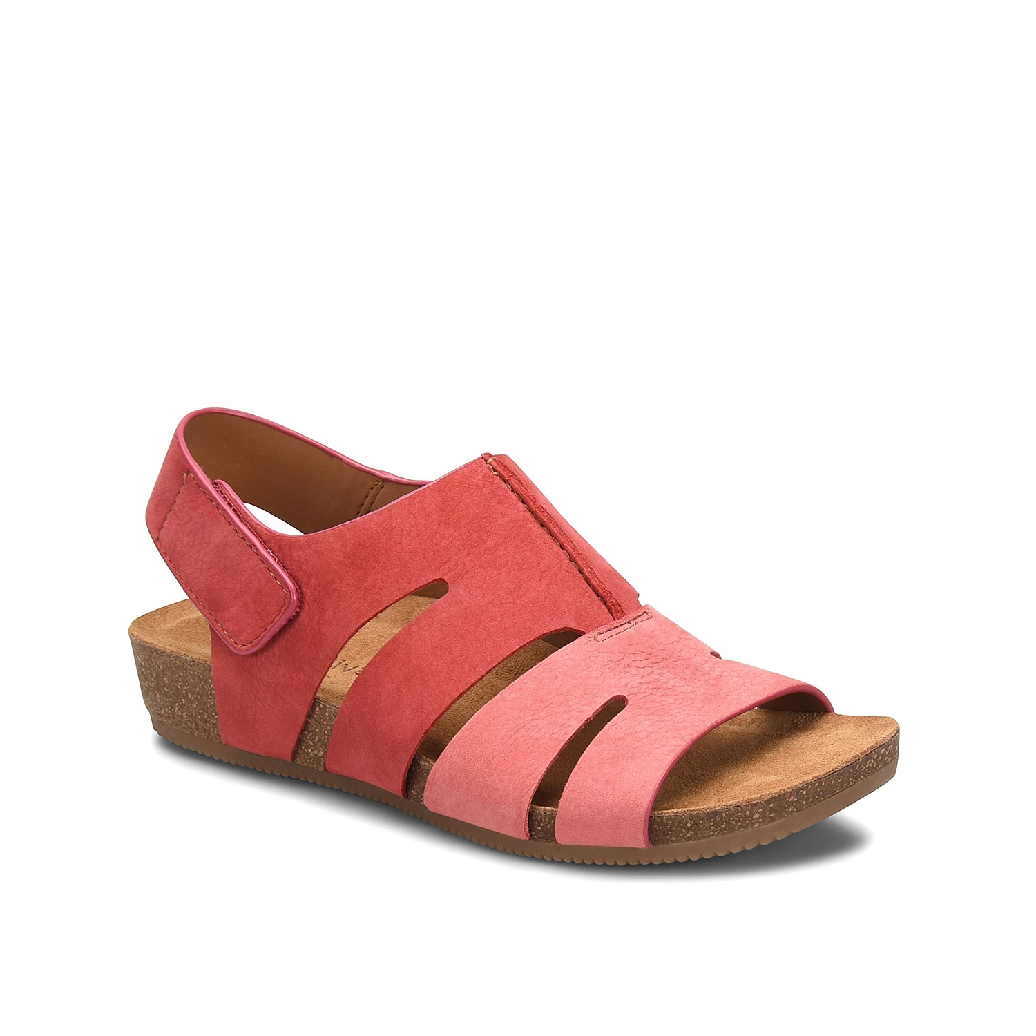 The Gayle wedge sandal from Comfortiva will add maximum appeal to your shoe collection. The Pillowtop®footbed provides extra cushioning with each step you take!