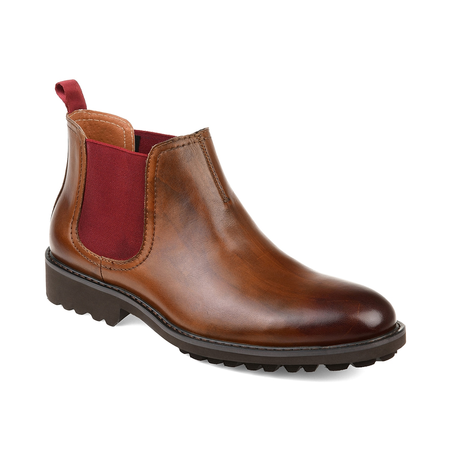Leave your feet right at ease when wearing the Maddox boot from Thomas & Vine. The Chelsea-inspired styling and clean, leather construction will go great with cuffed jeans and an open-faced flannel!