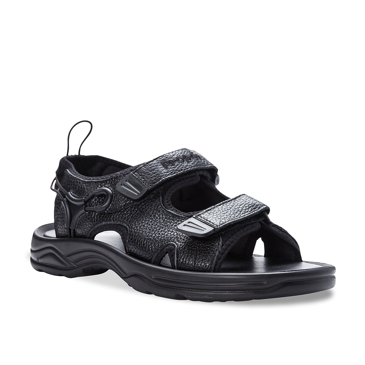 Take a stroll in the back or relax on the patio in the Surfwalker II sandals from Propet. This pair features a durable leather design for lasting wear and adjustable straps to ensure a stay-put fit.