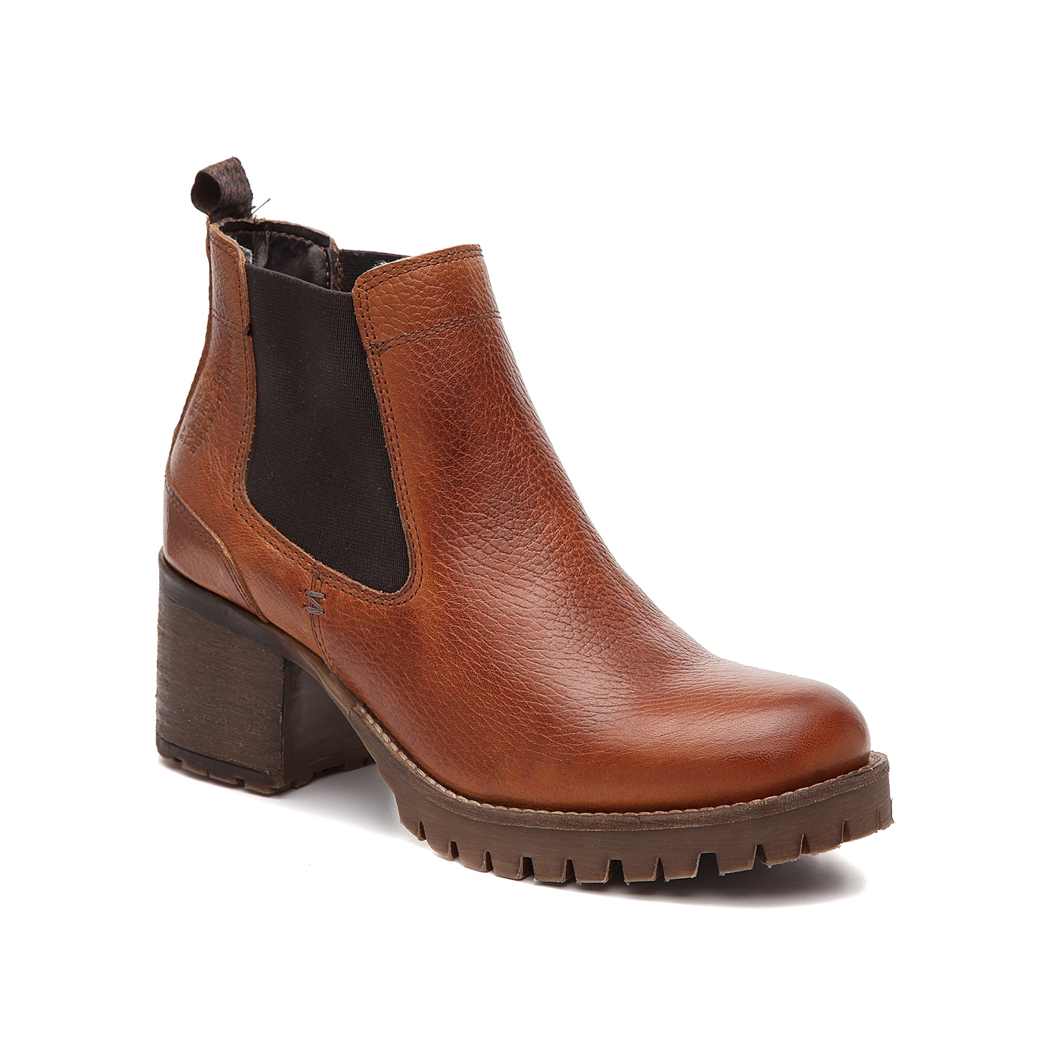 The Cory bootie from Bullboxer will be the perfect addition to your wardrobe. This Chelsea boot features a supple leather upper and chunky block heel for confident steps. Click here for Boot Measuring Guide.