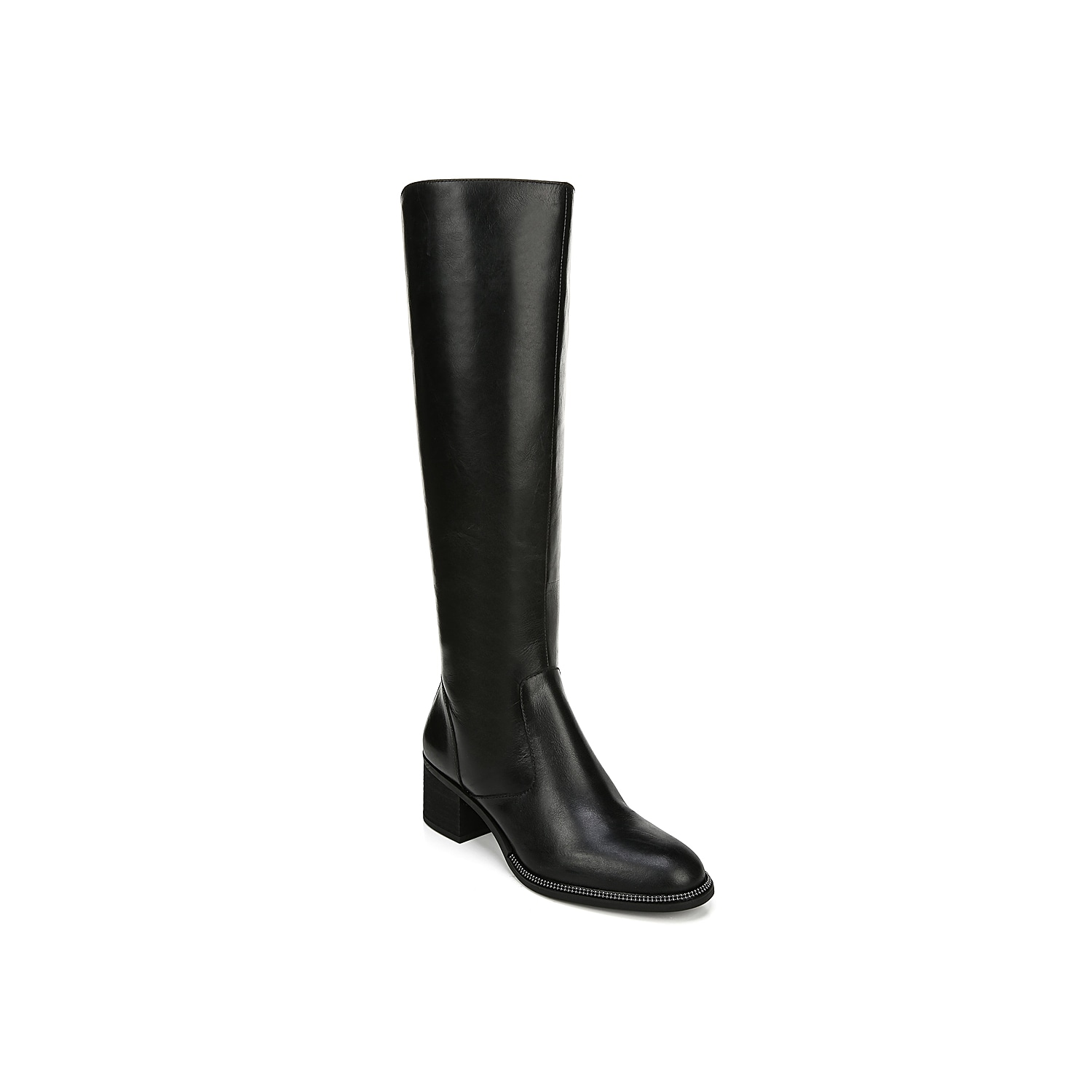 The Lauralei boot from Franco Sarto will be the perfect start to a fab shoe collection. This leather pair is fashioned with a stovepipe silhouette and a chunky heel for the perfect amount of height! Click here for Boot Measuring Guide.
