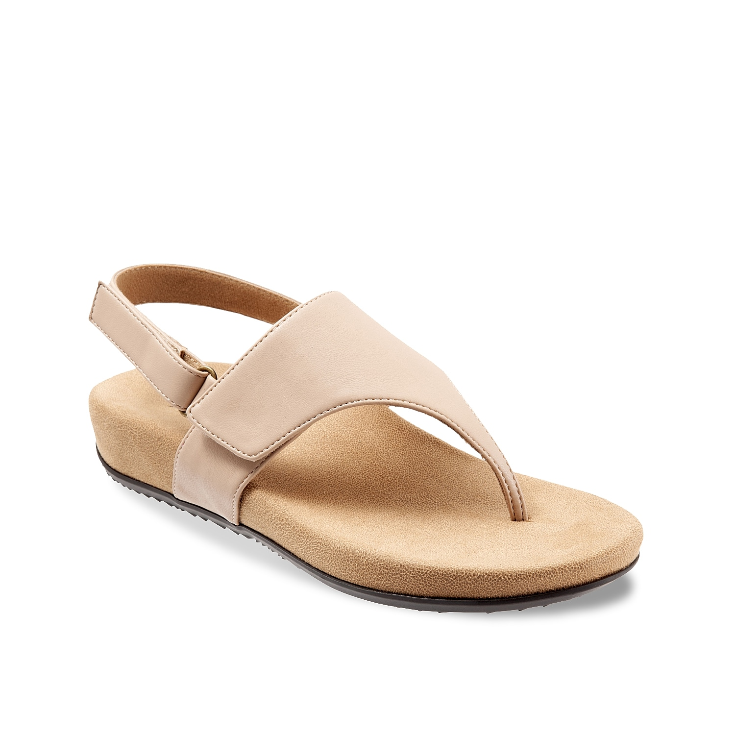 A supportive wedge heel and memory foam cushioning make the Paloma sandal a comfortable edition to your wardrobe. These slingbacks will complement jeans or dresses for any occasion.