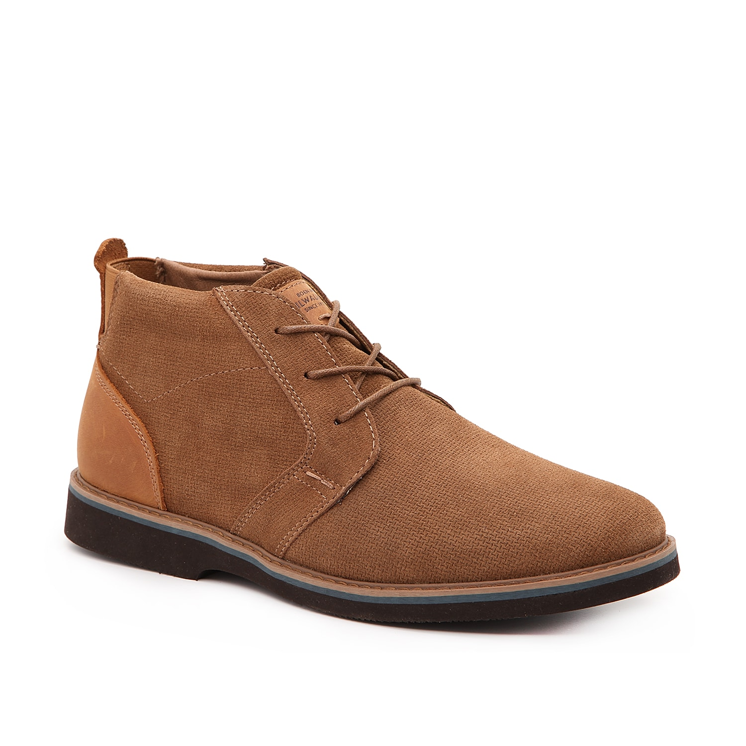 Streamline your style with the Barklay boot from Nunn Bush. This chukka-inspired pair features a suede construction and is backed by a Comfort Gel memory foam cushioned footbed to keep feet feeling great.
