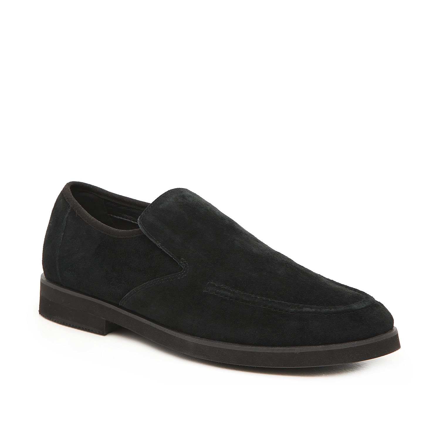 Look distinguished in the Bracco loafer from Hush Puppies. These suede slip-ons feature a plush insole and durable sole that will take you from work to weekend with no problem.