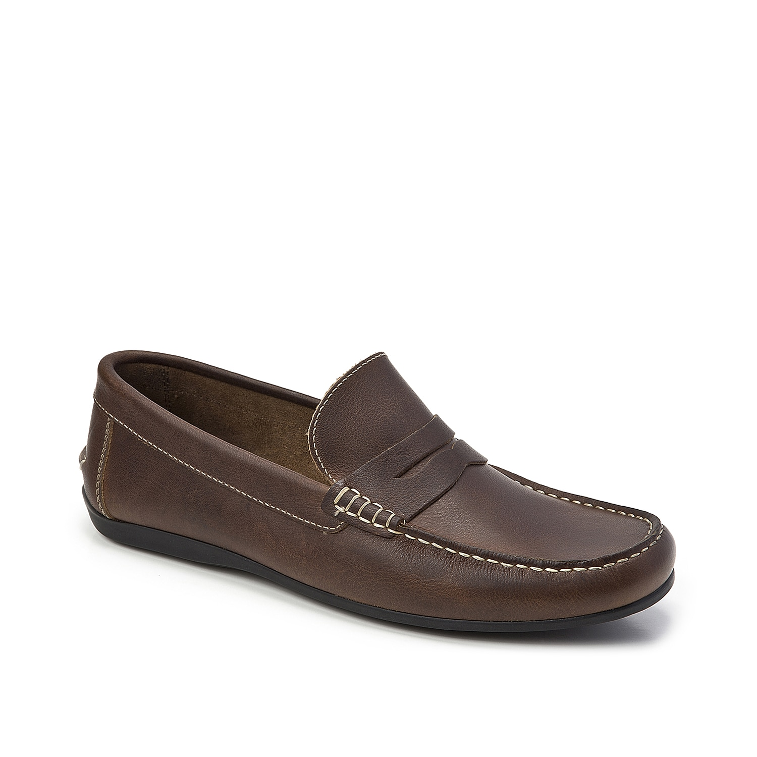 Freshen up your shoe collection with the Niece penny loafer from Sandro Moscoloni. This slip-on features leather upper and a padded footbed for daylong comfort and style!
