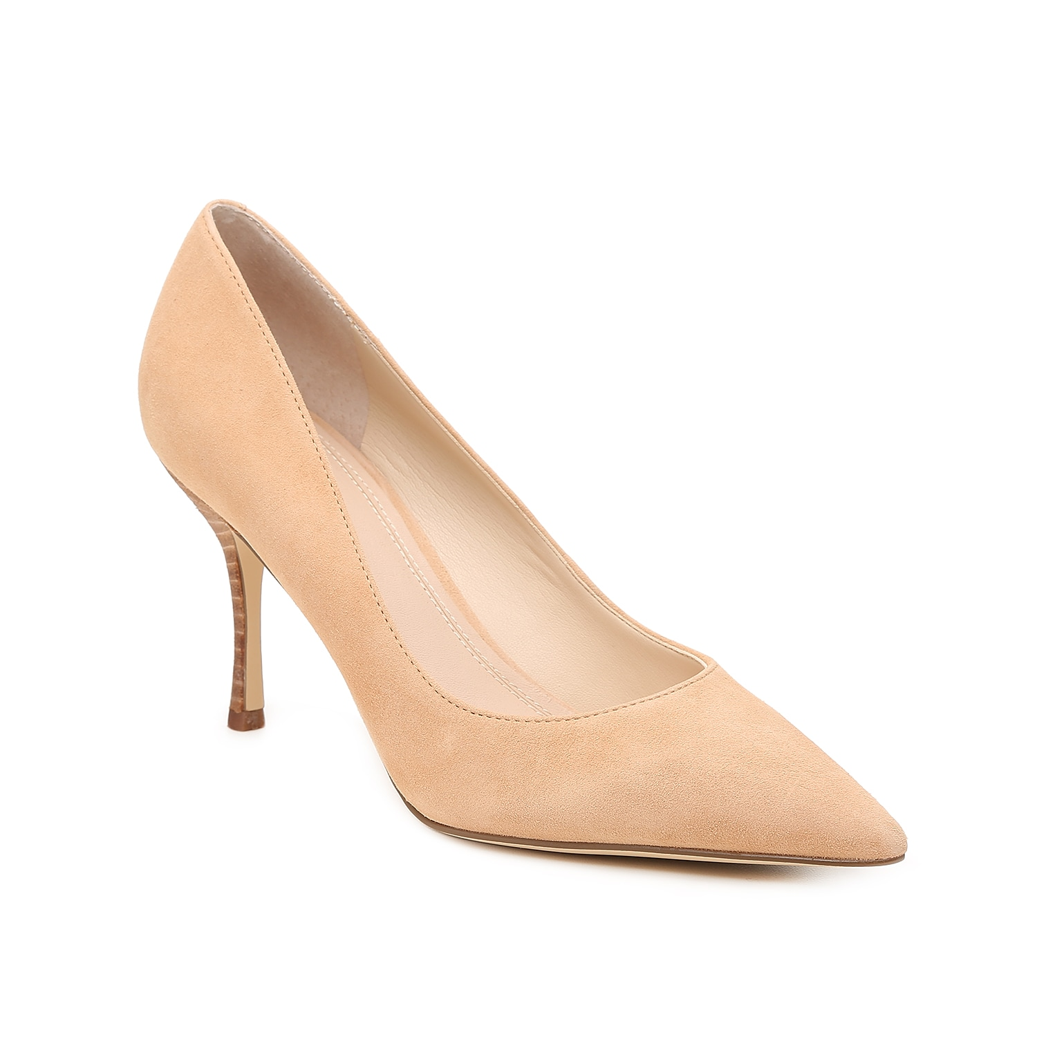 Freshen up your office attire with the Carter pump from Marc Fisher Ltd. This classic silhouette is fashioned with a leather lining and an elevated heel for all the height!