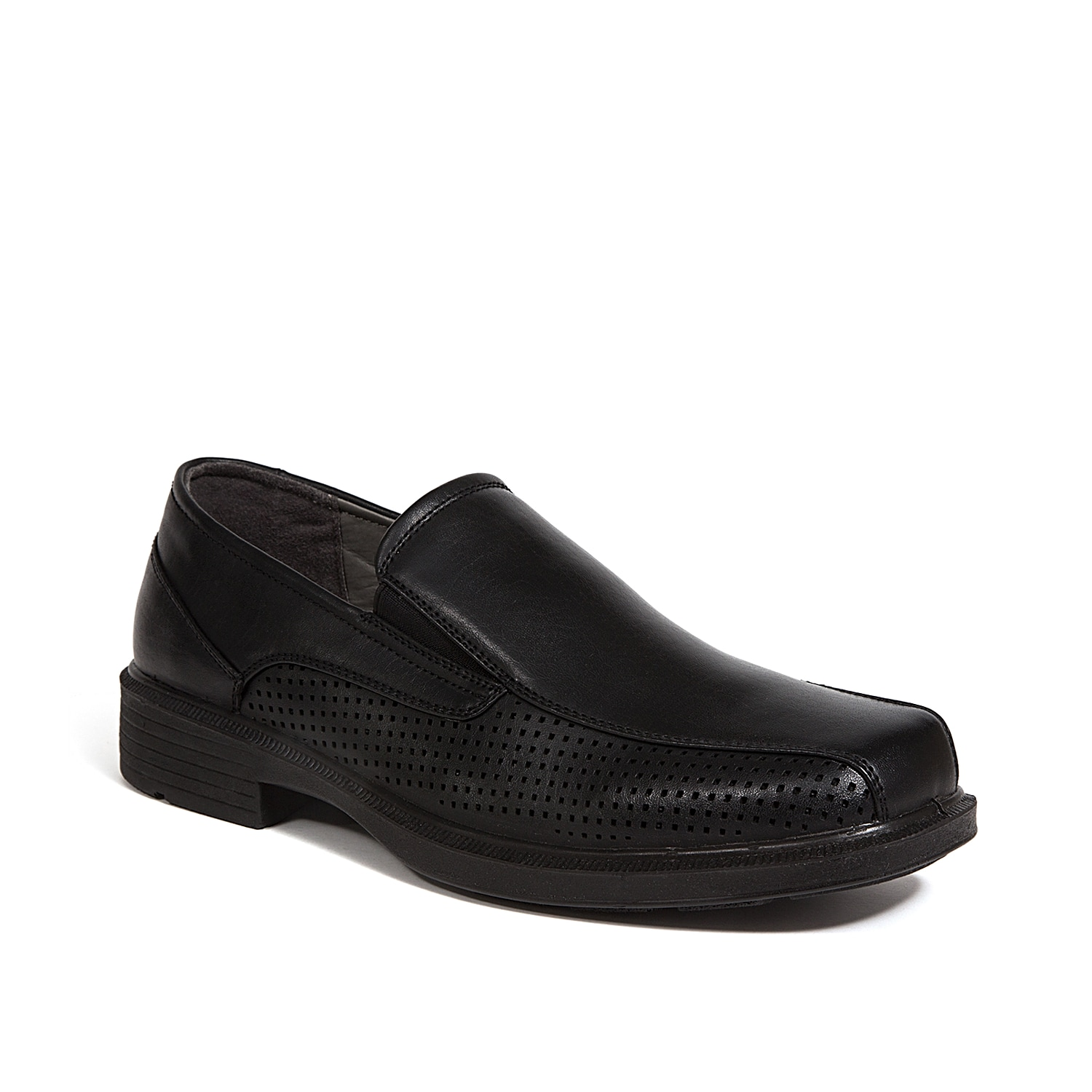 The Fortgreene slip-on from Deer Stags updates a classic silhouette. With perforated sides and a cushioned footbed with arch support, this pair will become an instant favorite!