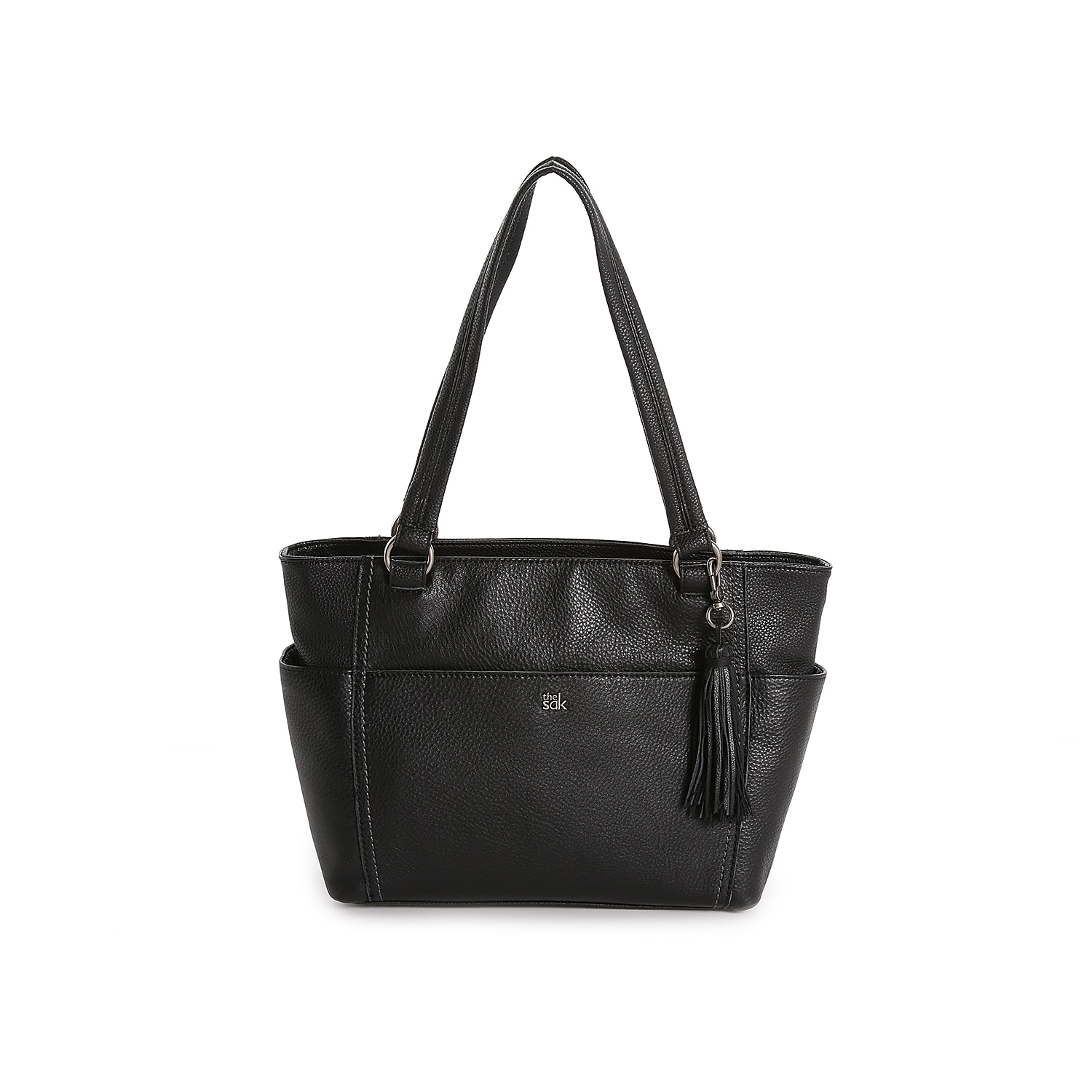 You can\\\'t go wrong with the Ashby shoulder bag from The Sak. This leather handbag features a classic design and a roomy interior for your new favorite bag!