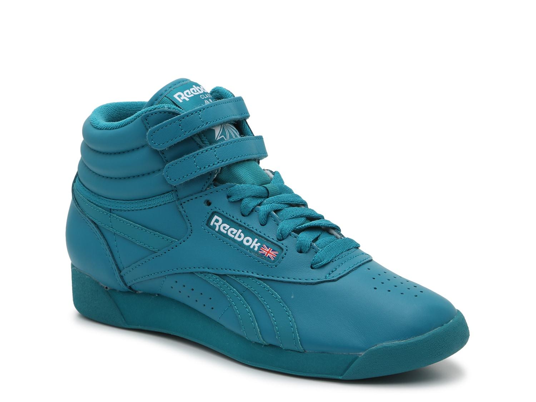 women's reebok high top sneakers