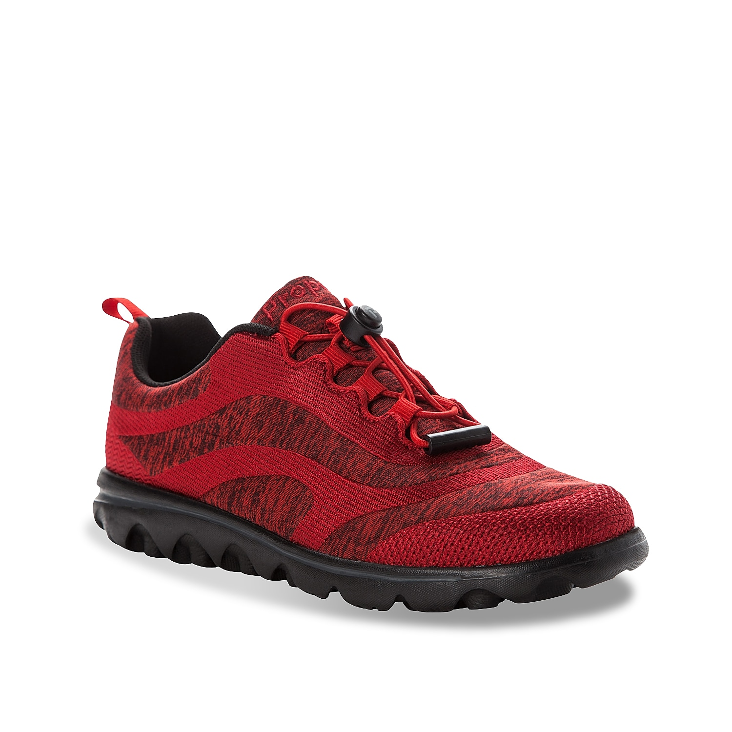 You\\\'ll fall in love with the look and feel of the Travelactive Aero shoe from Propet. Built with an airy mesh upper, this lace-up shoe has a comfortable high-density open foam insole and traction-improving TravelTek¿ EVA outsole.