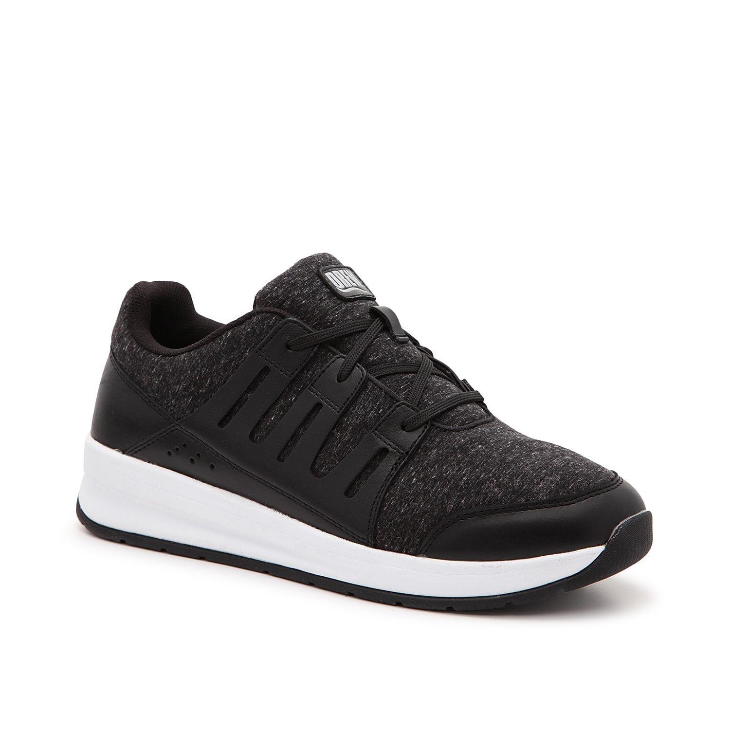 Freshen up your casual shoe collection with the Boost Apron sneaker from Drew. This men\\\'s jogger features a mixed material upper and a slip-resistant sole for extra durability and comfort.