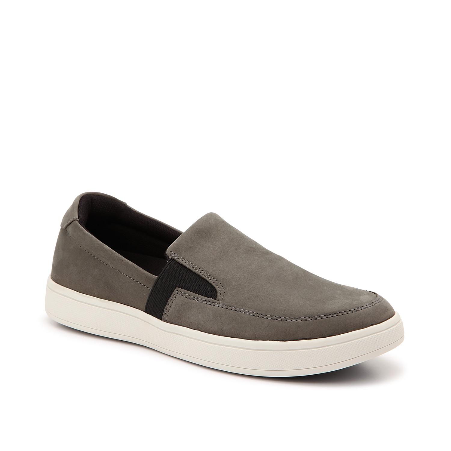 Complete your shoe collection this season with the Jump slip-on from Drew. This low-top sneak features a nubuck leather upper and a removable insole for optimal comfort!