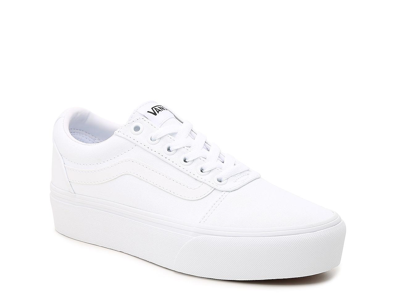 Vans Ward Lo Platform Sneaker - Women's