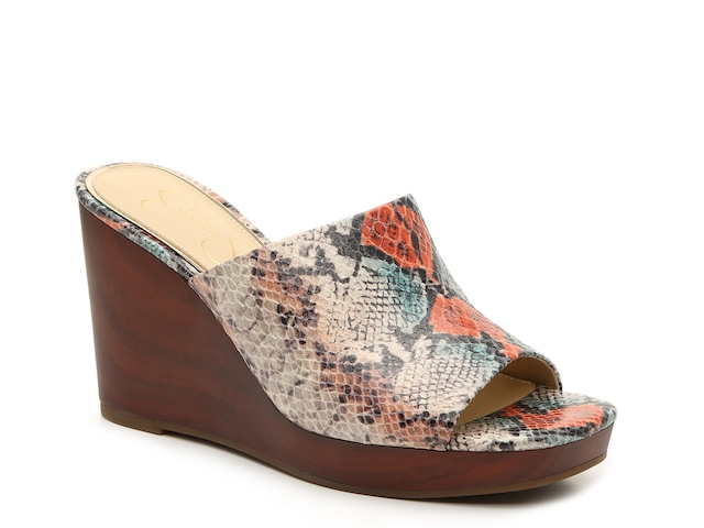 .98 SHEYNA WEDGE SANDAL at DSW + Free shipping for members and free to join!