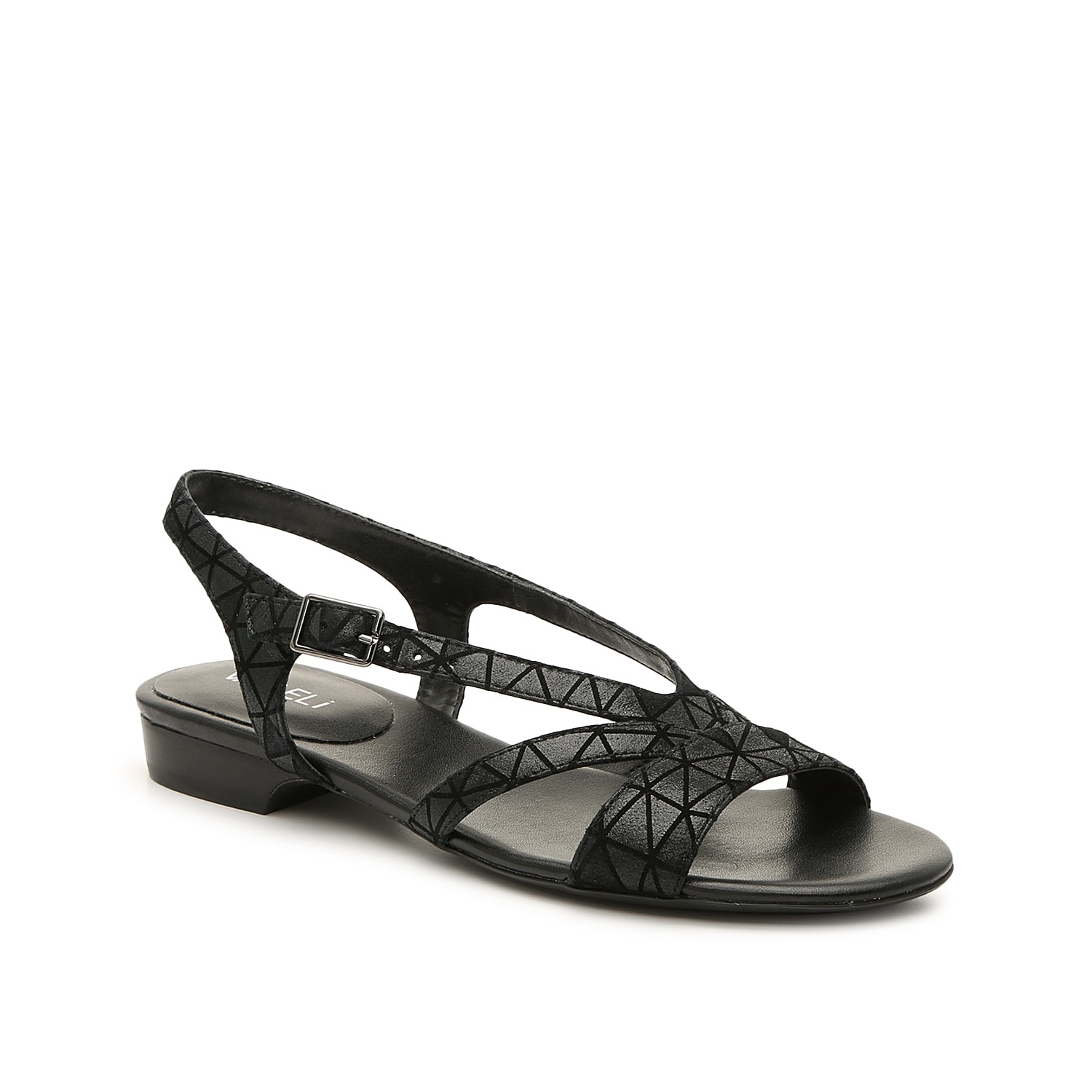 You\\\'ll keep finding new ways to style the Byrd sandal from VANELi. A just-right heel and padded footbed keeps you going all day long.