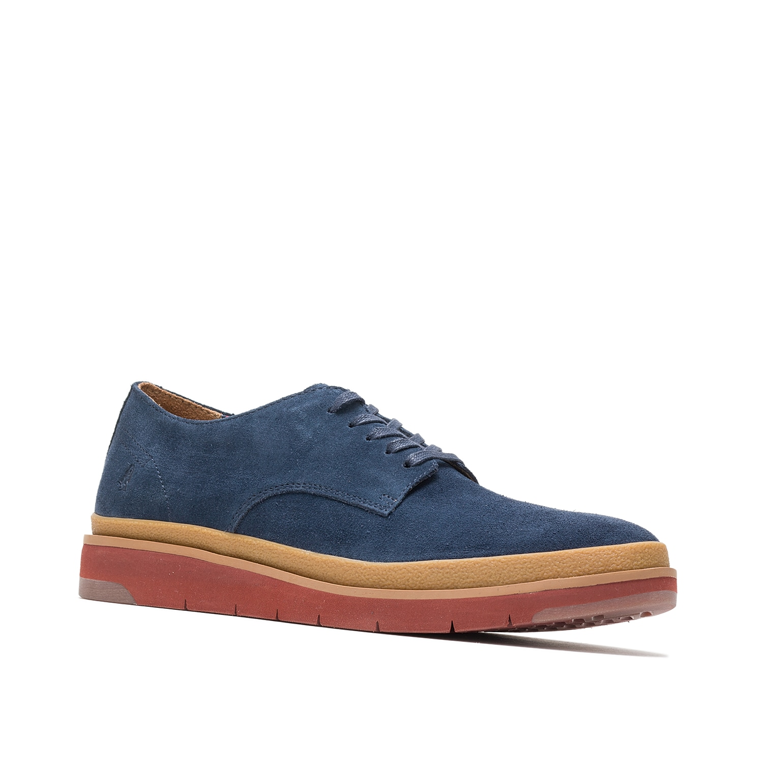 Tailored style gets a sporty upgrade with the Caleb oxford from Hush Puppies. An athletic outsole and soft suede upper make this lace-up a pair to remember.