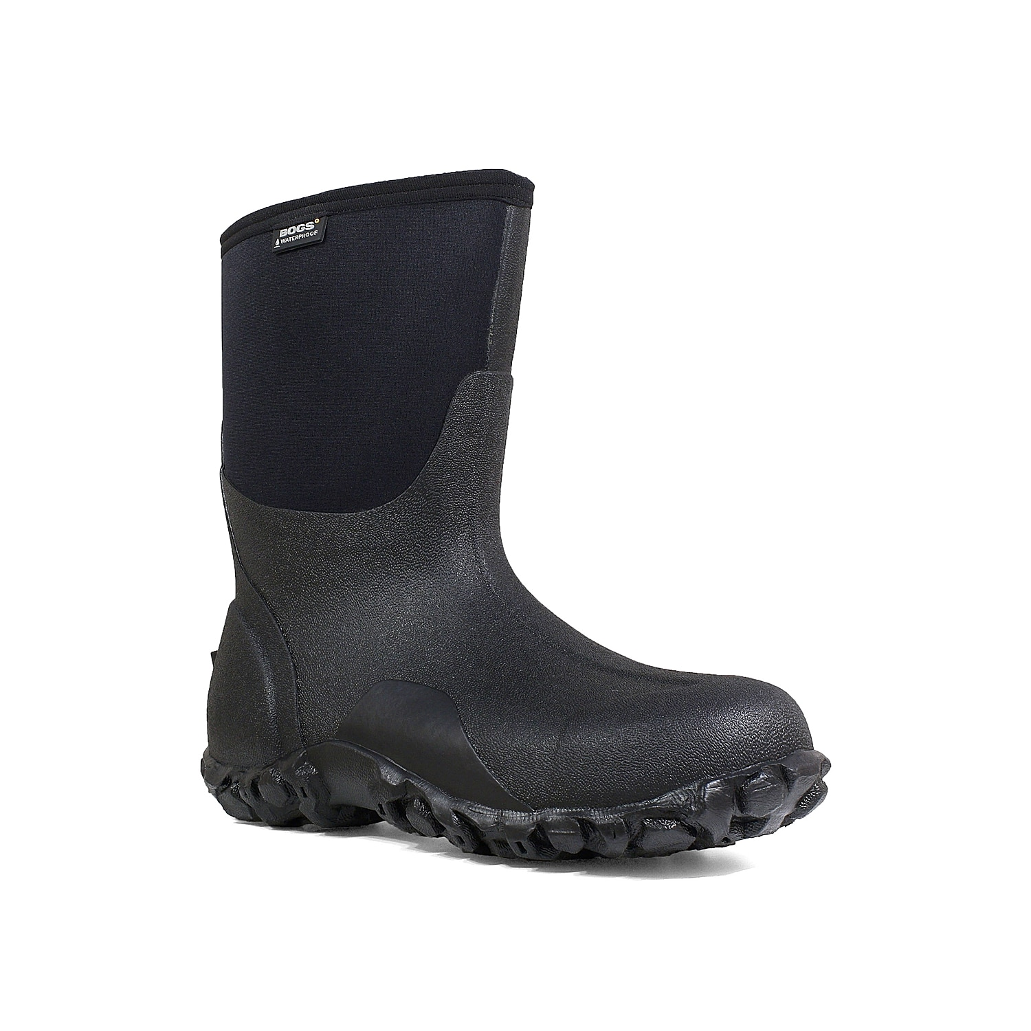Weather won\\\'t stop you when you wear the Classic winter boots from Bogs. These comfort-rated snow boots are designed to provide excellent traction on any surface, while four way-stretch insulation and a contoured fit improve wearability.