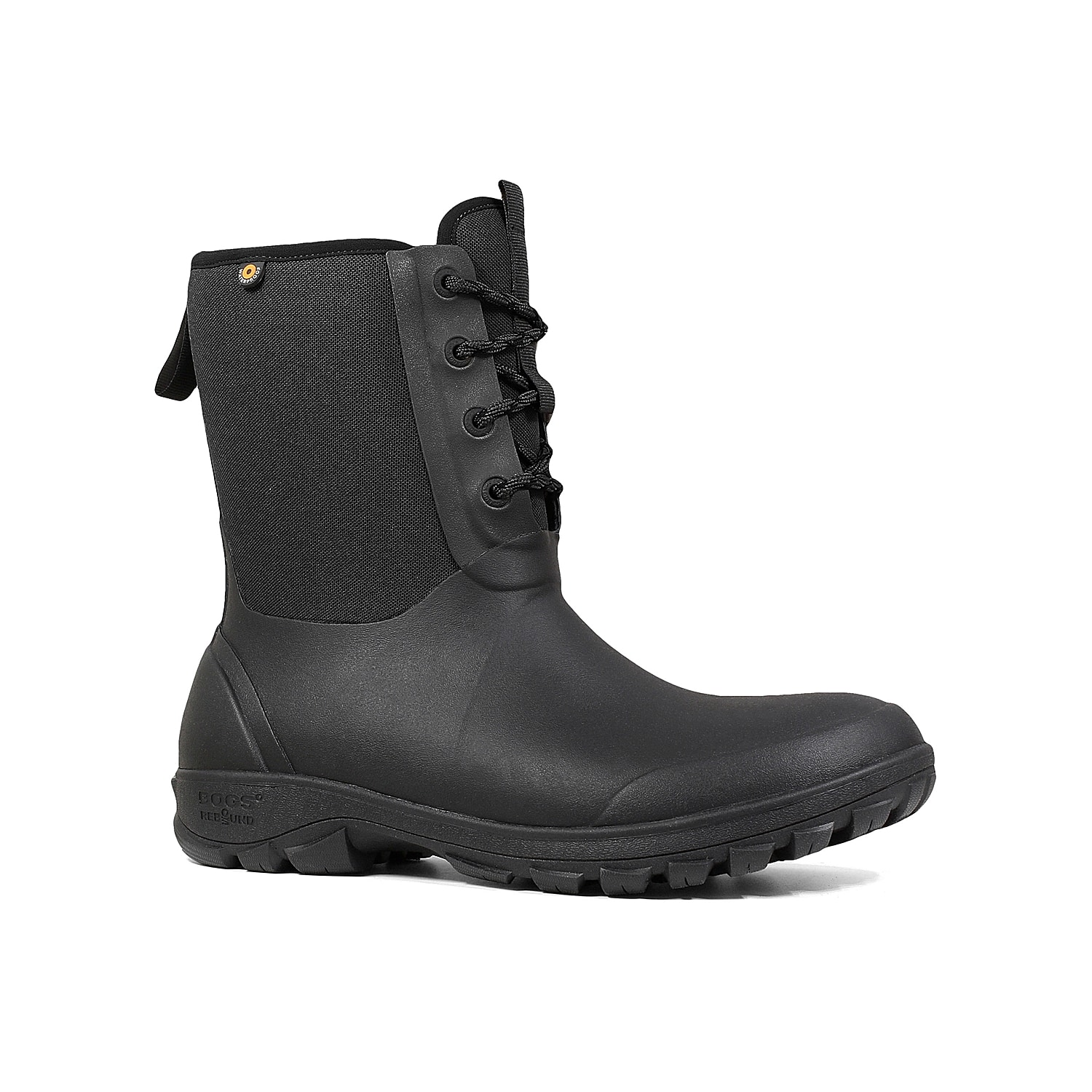 Bogs brings you the Sauvie snow boot that provides all-day comfort and stability. This lace-up features a fully waterproof construction and Max-Wick technology that evaporates sweat to keep feet dry!