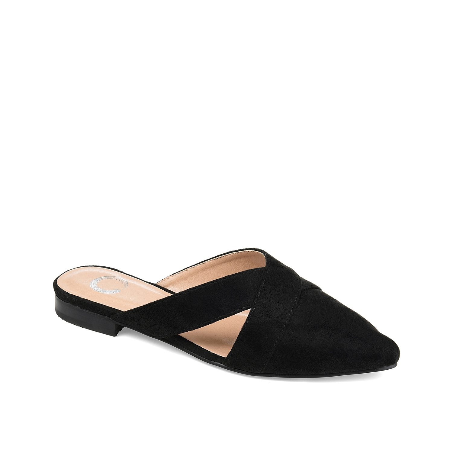 Slide into uniquely chic style with the Giada mule from Journee Collection. Criss cross straps create side cut outs for modern styling.