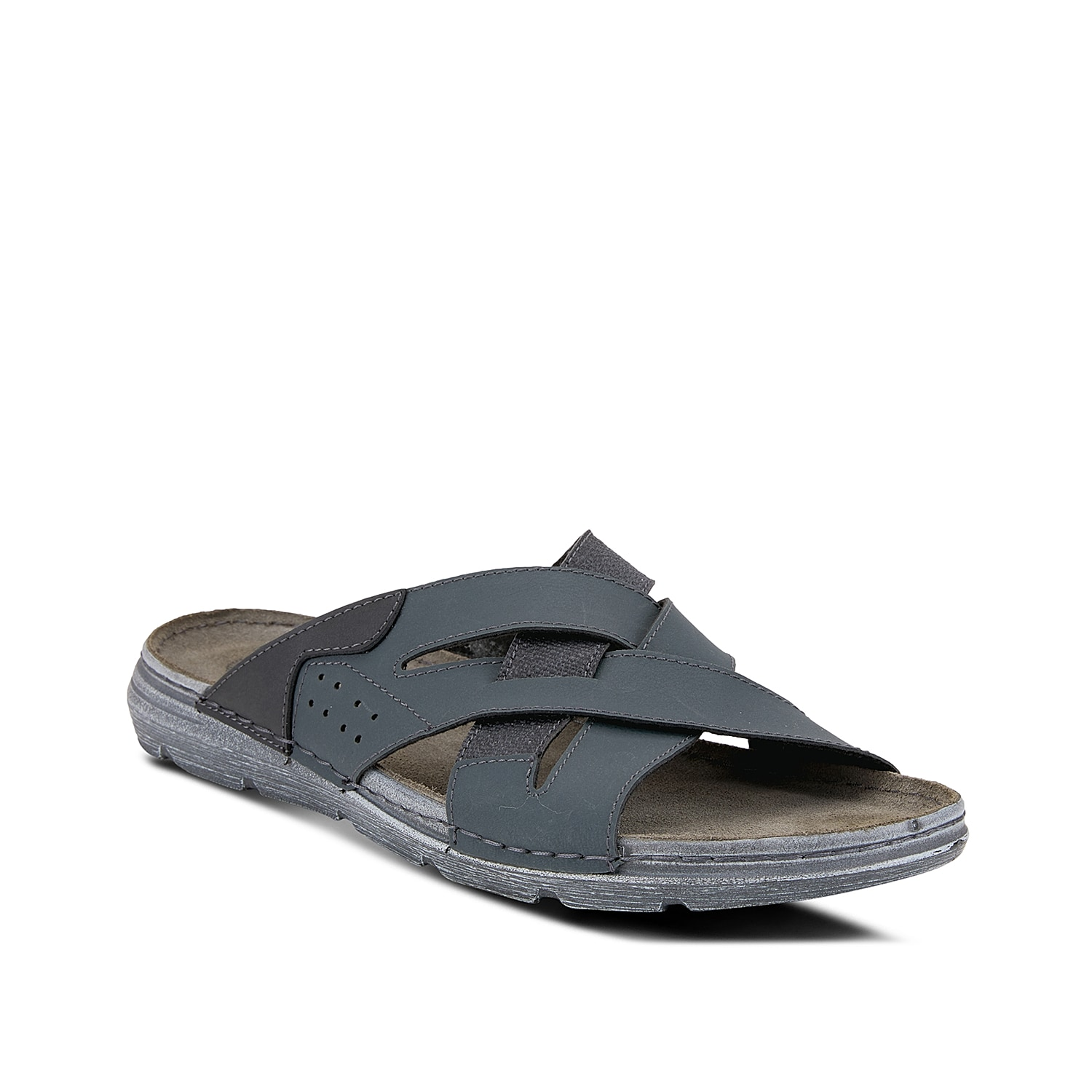 Slide into your new favorite pair with the Iwan sandal from Spring Step. This pair features a leather cushioned footbed for breathable comfort.