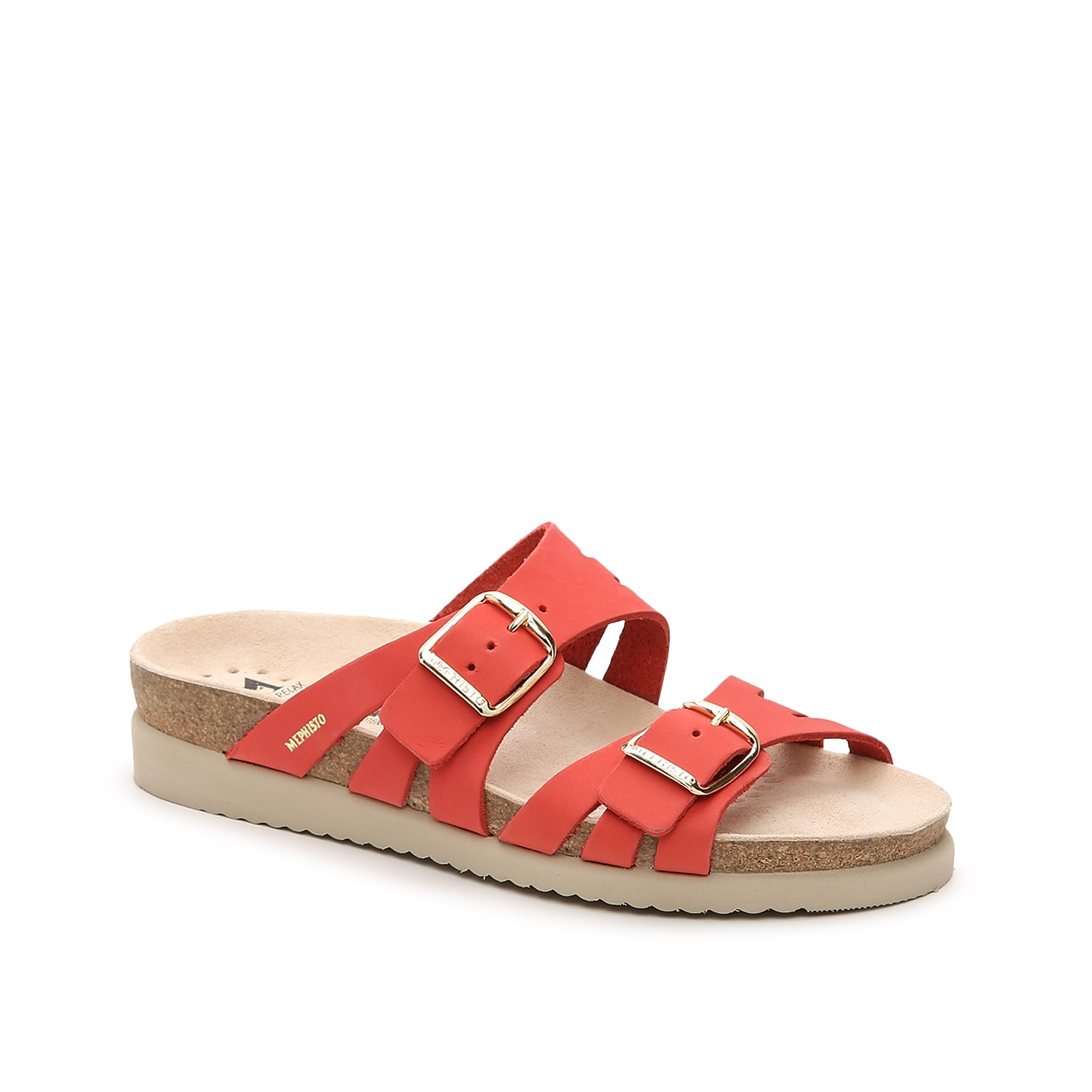 Mephisto brings you the Helisa sandal for all of your casual looks. This silhouette is fashioned with leather straps and a contoured footbed for daylong wear.