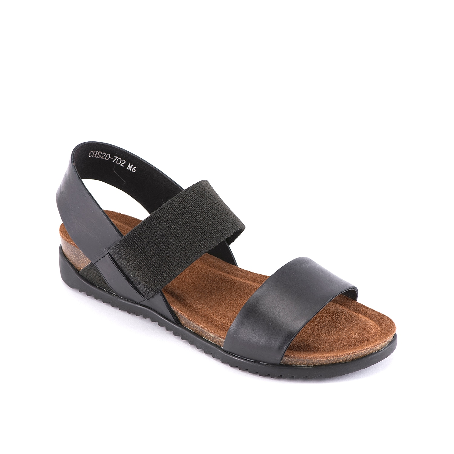 Treat your feet to comfortable style with the Champ sandal from David Tate. This casual pair is fashioned with an elastic band and cork midsole for extra comfortable steps!