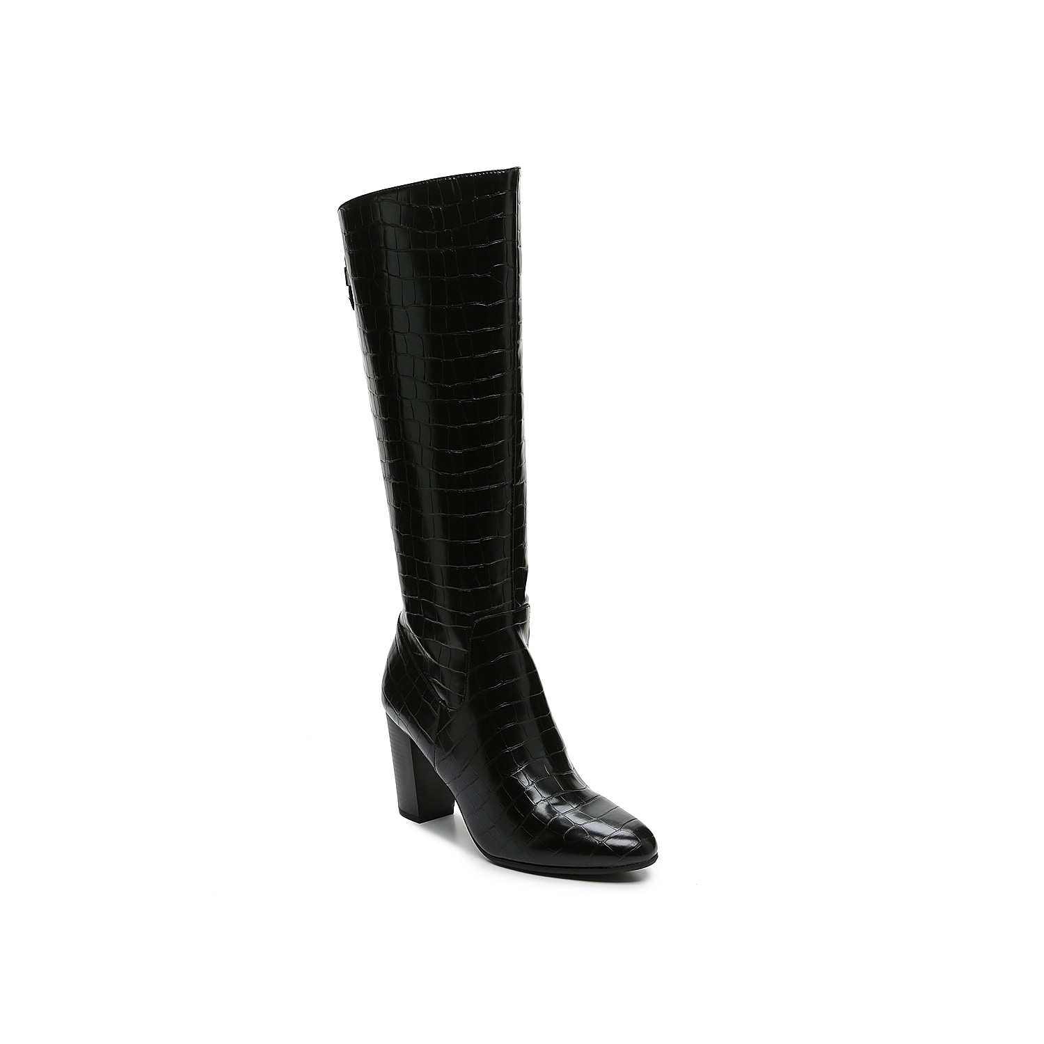 The Nastya boot from Anne Klein displays a simple and frills-free interpretation of the croco print fashion trend. Keep it classic and dress it up or down!