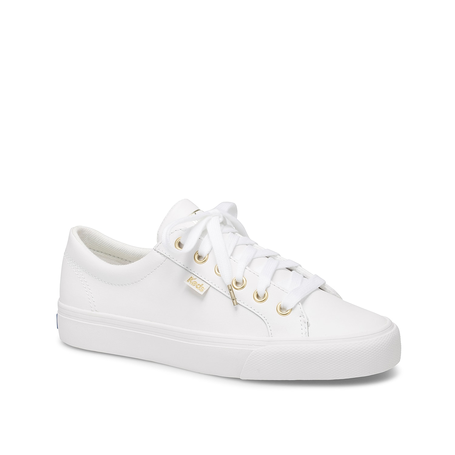 Nail that sporty, streamlined look by donning the Keds Jumpkick sneaker. This lace-up profile features a supportive pique lining and traction-enhancing rubber outsole.