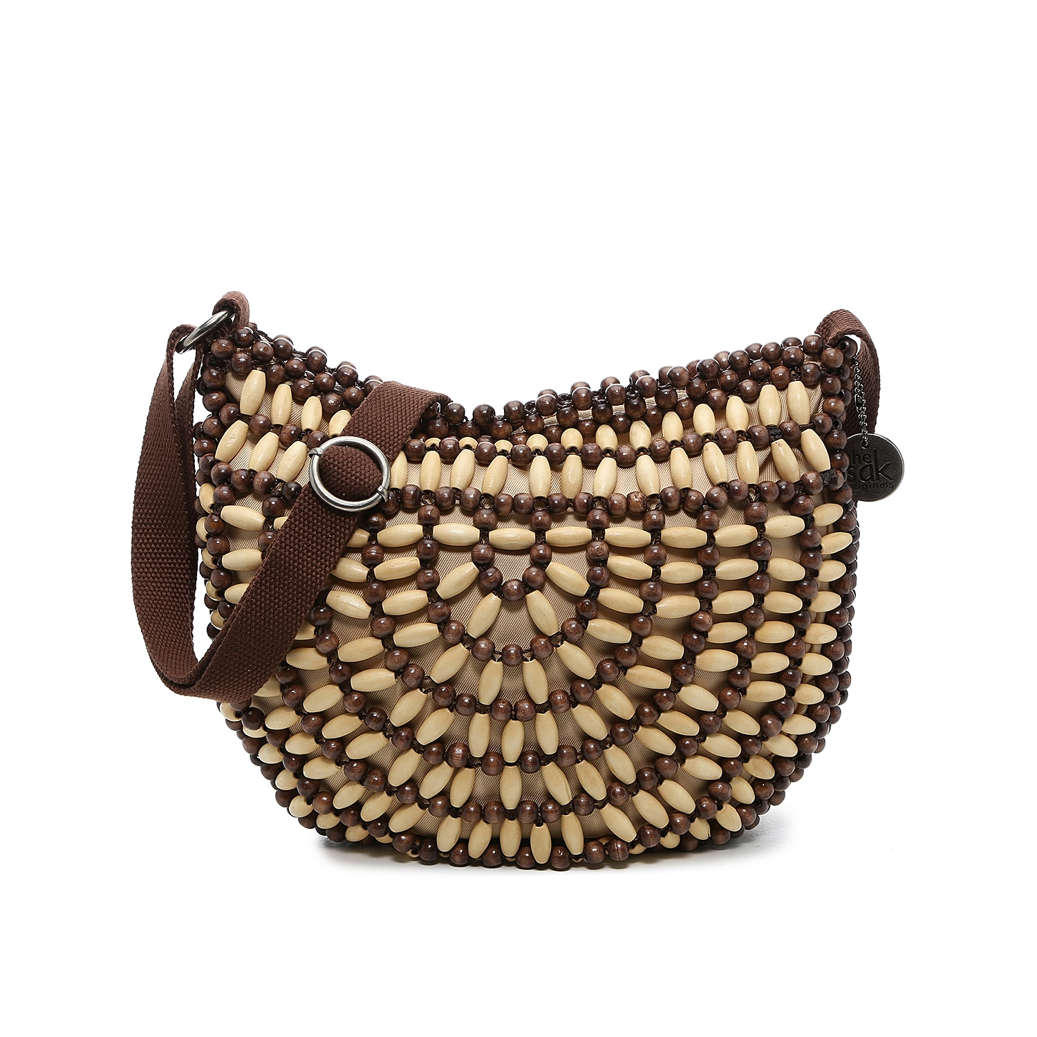 The Ryder crossbody bag from The Sak is the ideal pick for yaer-round adventuring. A crochet design and hand-beaded accents lend natural texture and appeal to this zippered shoulder bag.