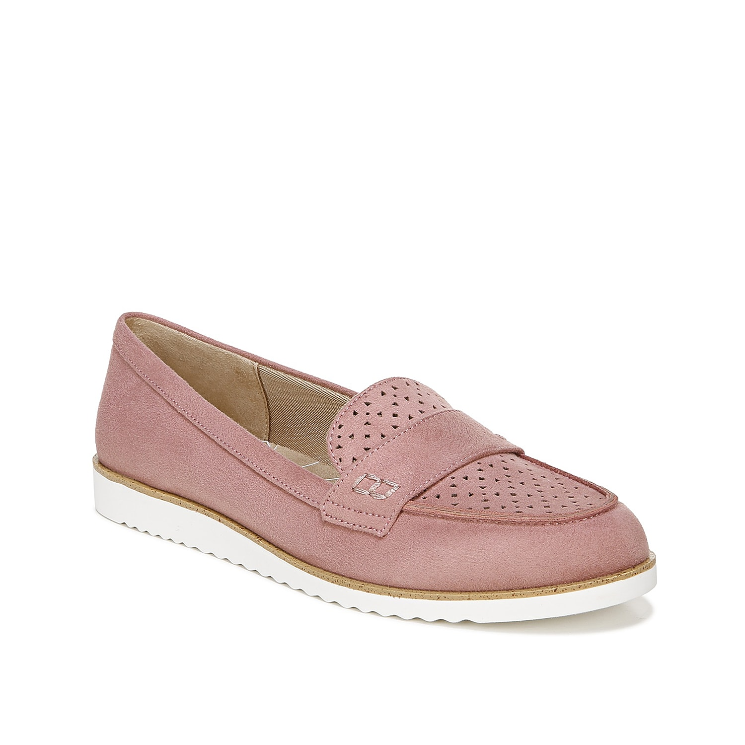 Step forward with ease when wearing the Zaza loafer from LifeStride. This flat is fashioned with laser-cut accents and a layer of Velocity with Memory Foam that hugs your foot!