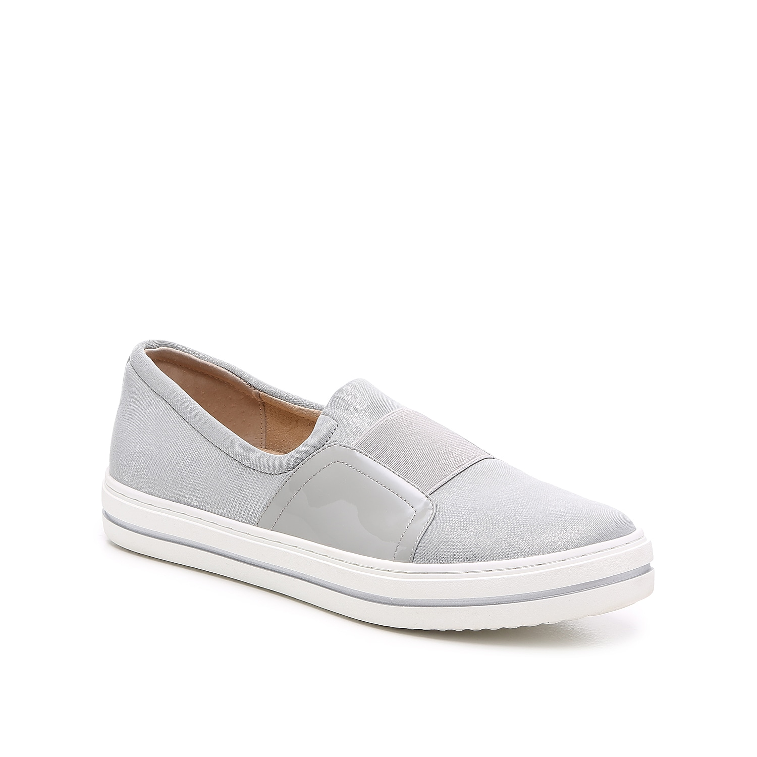 Add a sporty flair to your look while you run errands, with the Yorga slip-on sneaker from VANELi!