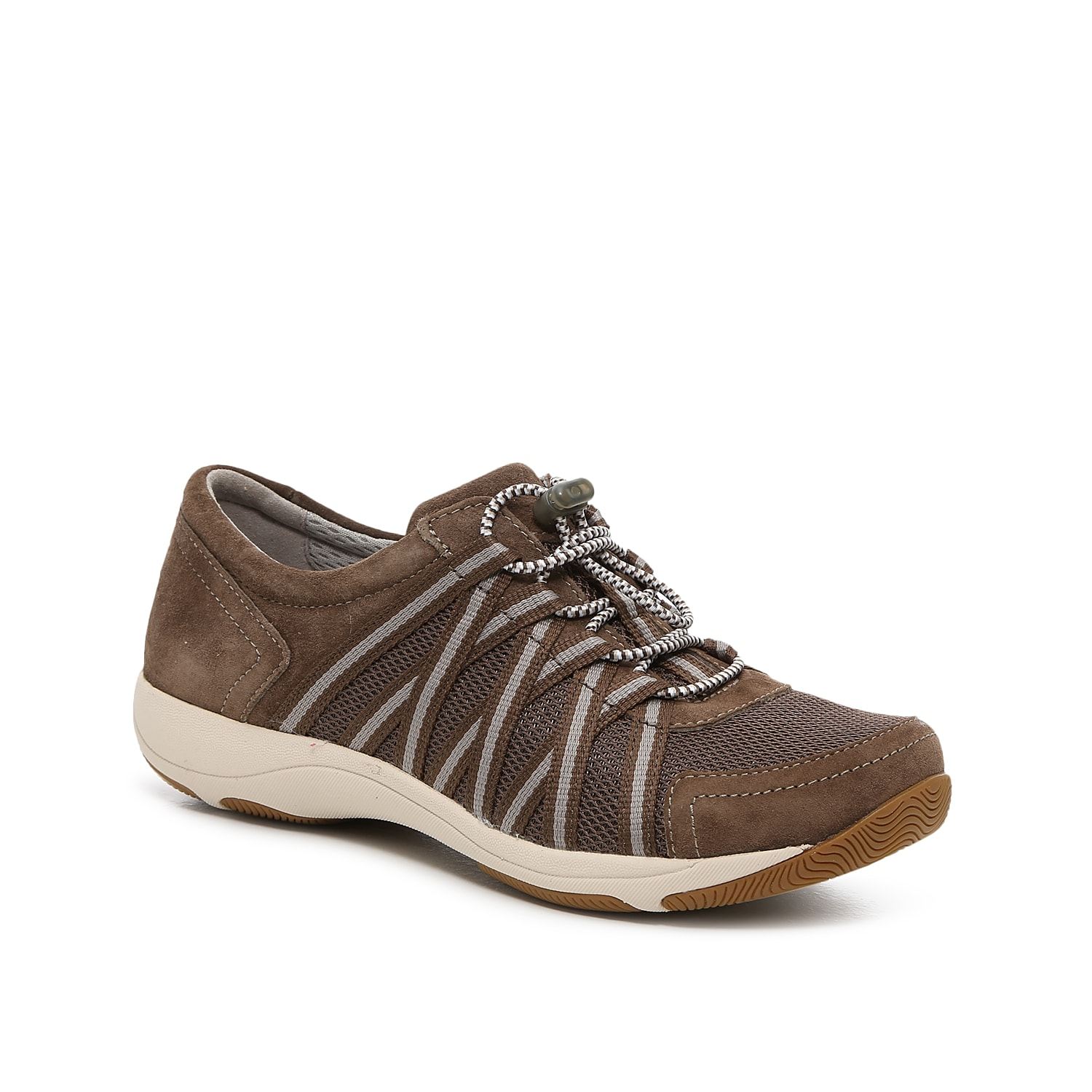 You\\\'ll be ready for anything in the Honor sneaker from Dansko. This hiker-inspired pair features an Aegis® anti-microbial lining, 3M Scotchgard™ stain-resistant treatment, and memory foam footbed for your new favorite.